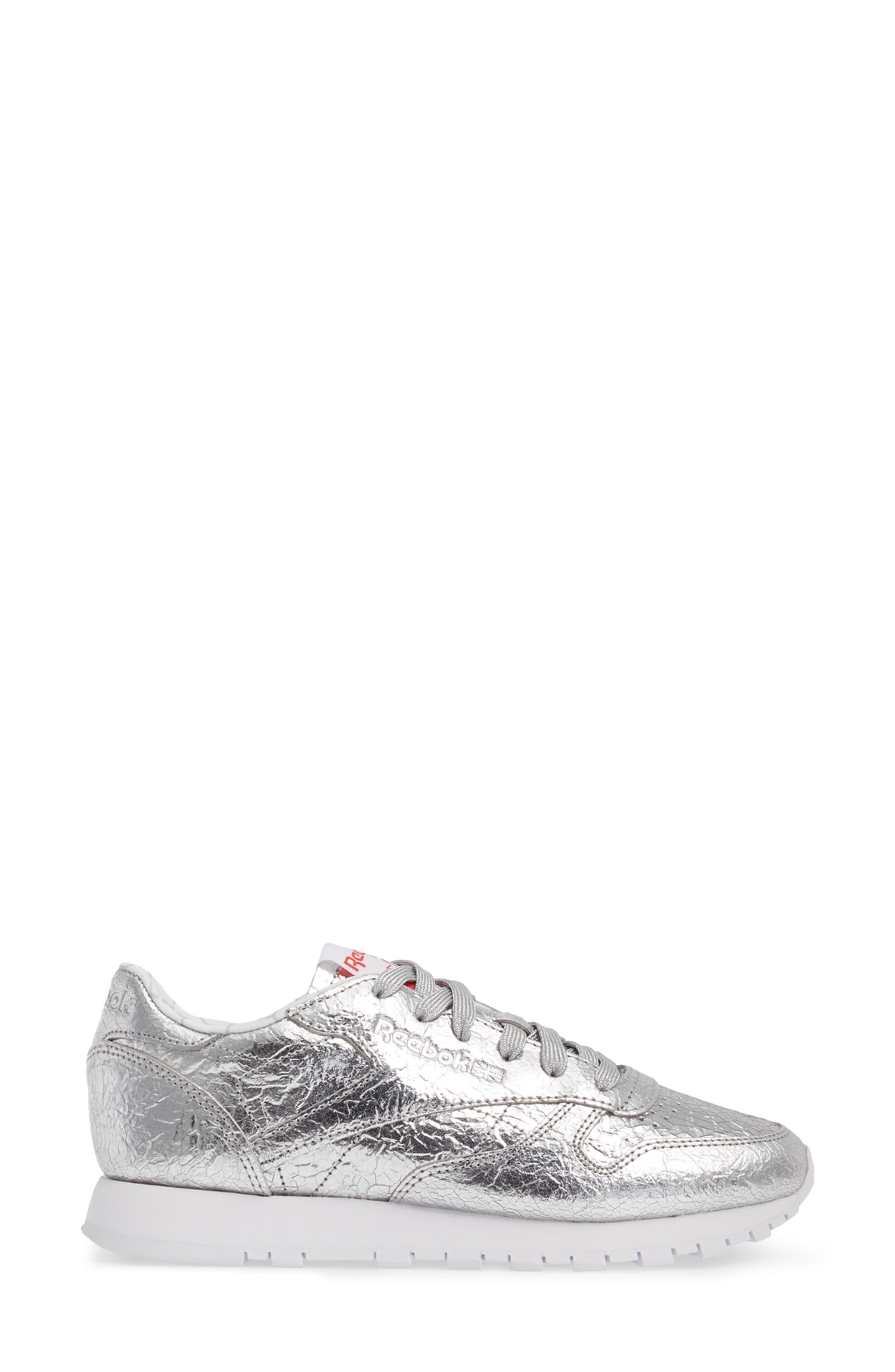 Alternate Image 3  - Reebok Classic Leather HD Foil Sneaker (Women)