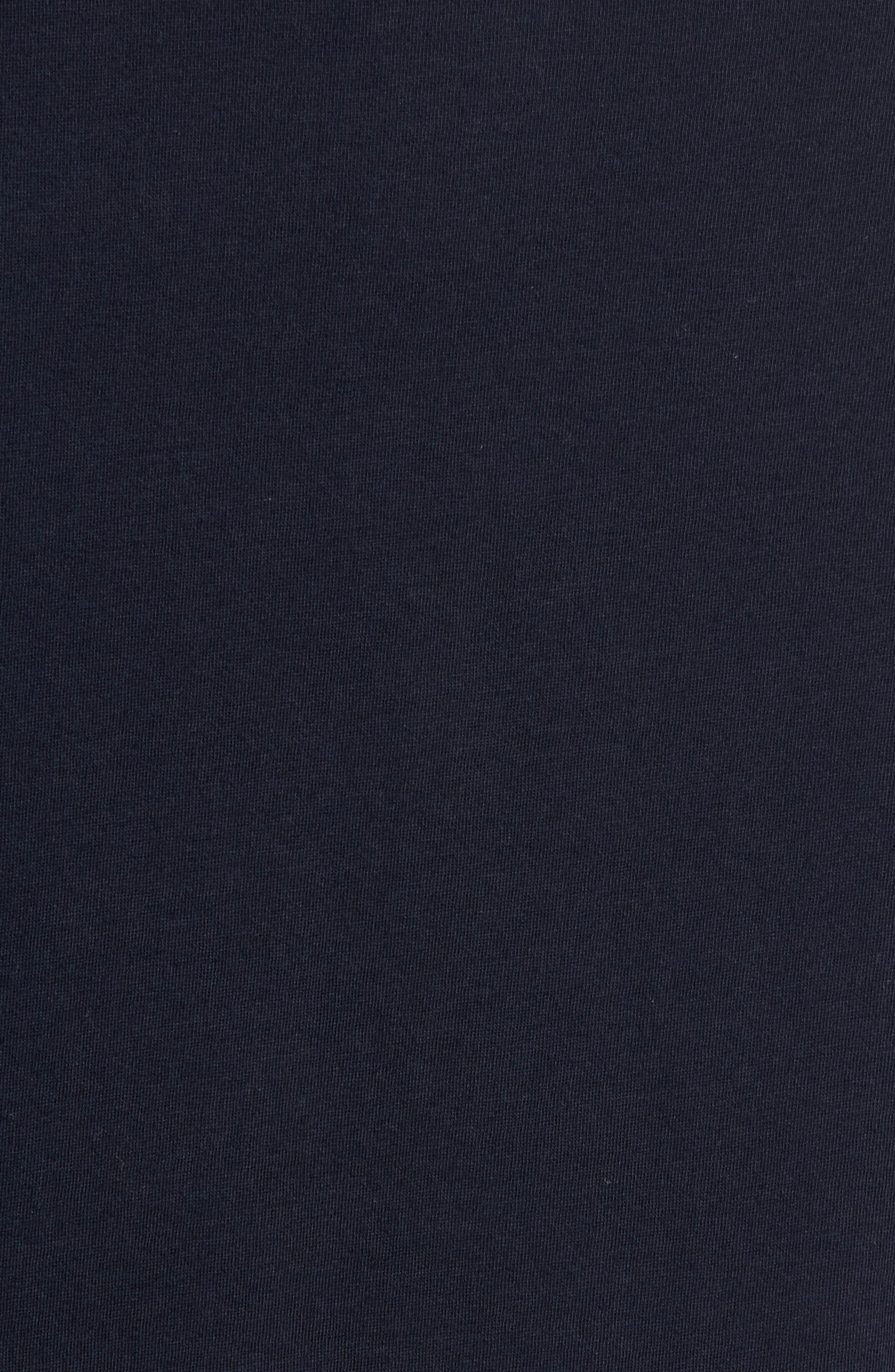 Henley T-Shirt,                             Alternate thumbnail 5, color,                             Marine Blue