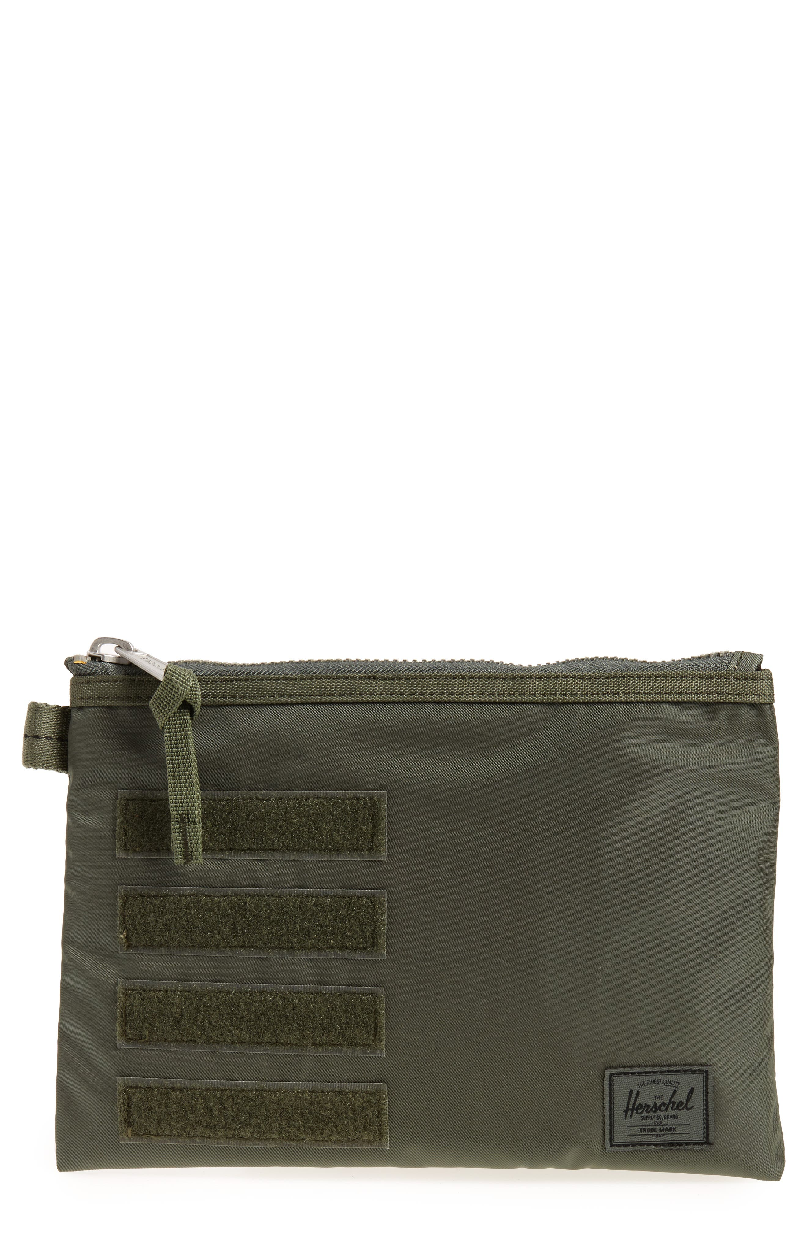 Alternate Image 1 Selected - Herschel Supply Co. Network Pouch Surplus Collection Portfolio