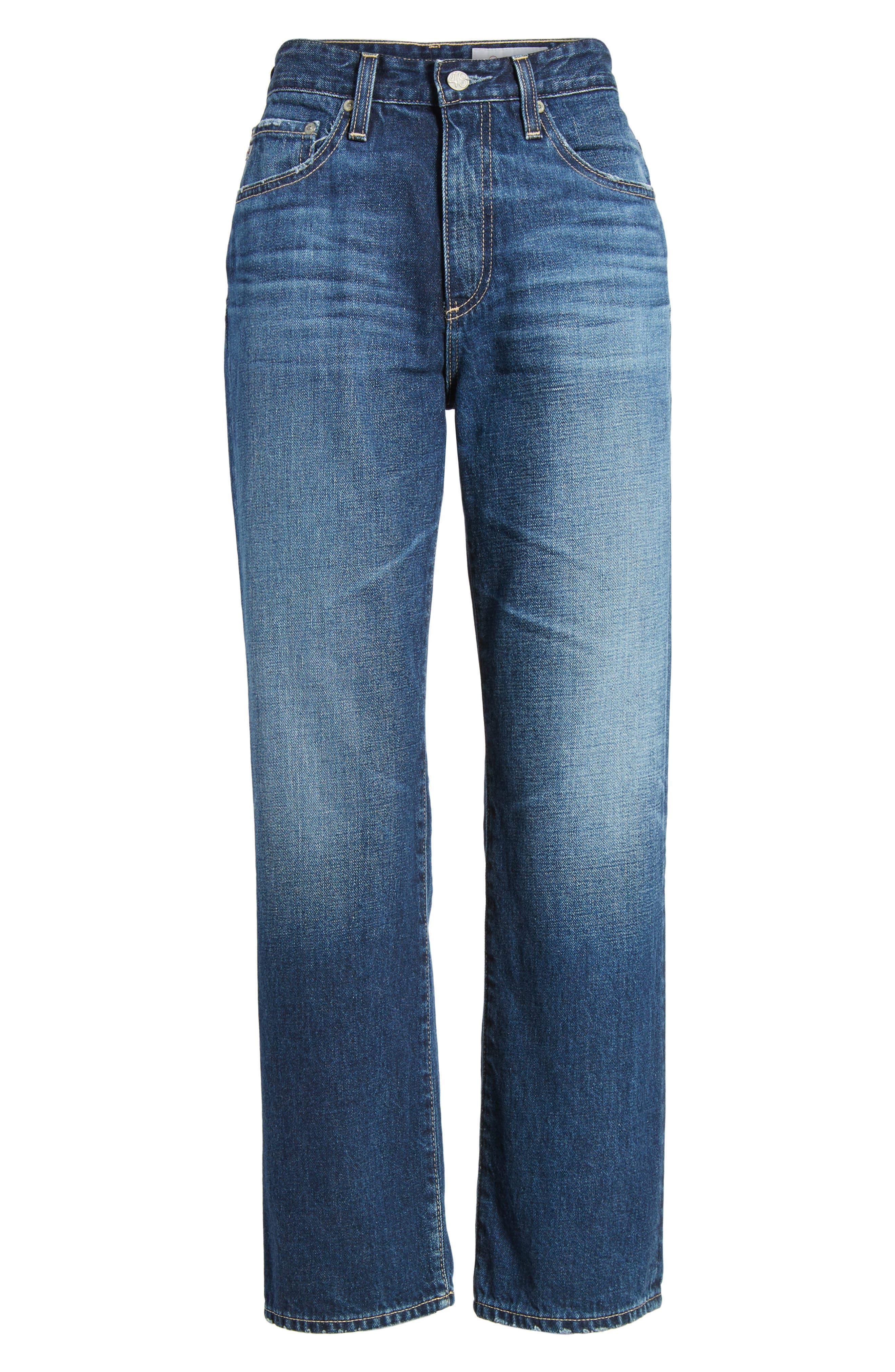 The Rhett Vintage High Waist Crop Jeans,                             Alternate thumbnail 8, color,                             11 Years Jubilee