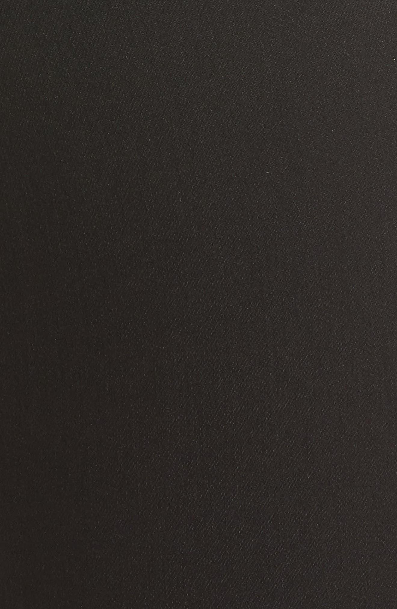 Diana Curvy Fit Skinny Jeans,                             Alternate thumbnail 5, color,                             Black