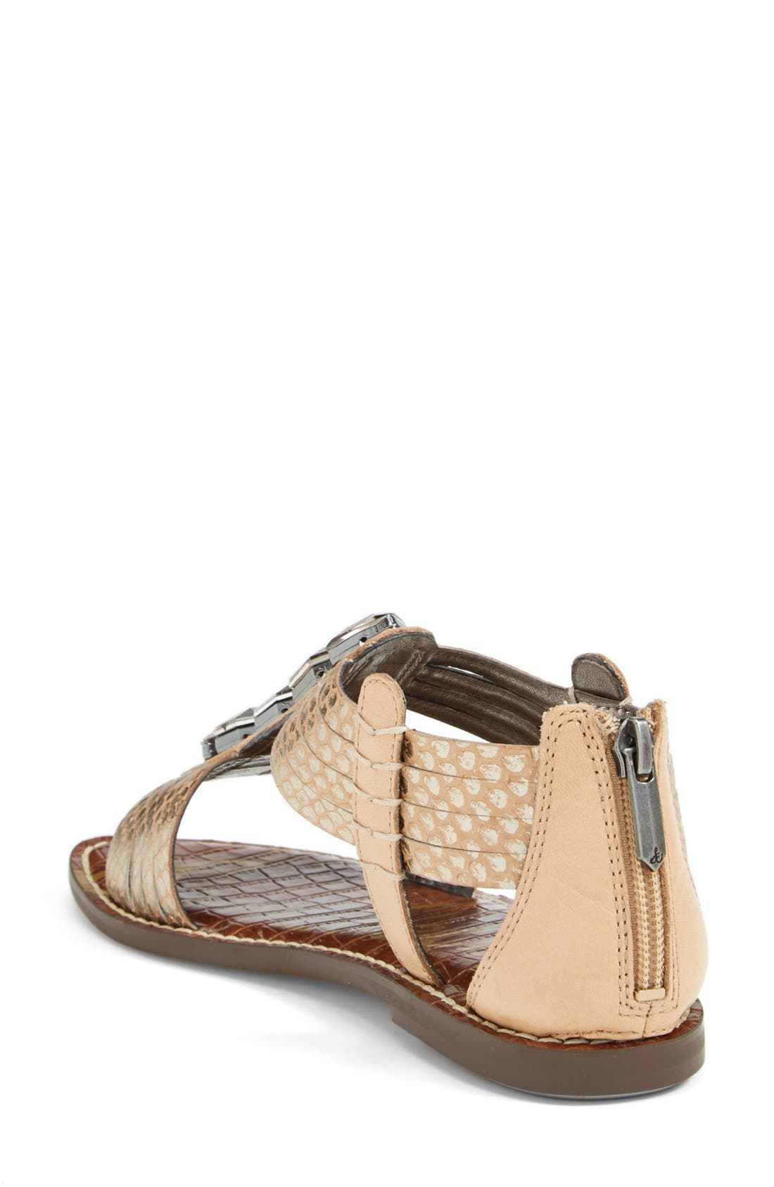 Alternate Image 2  - Sam Edelman 'Galina' Crystal Embellished Sandal (Women)