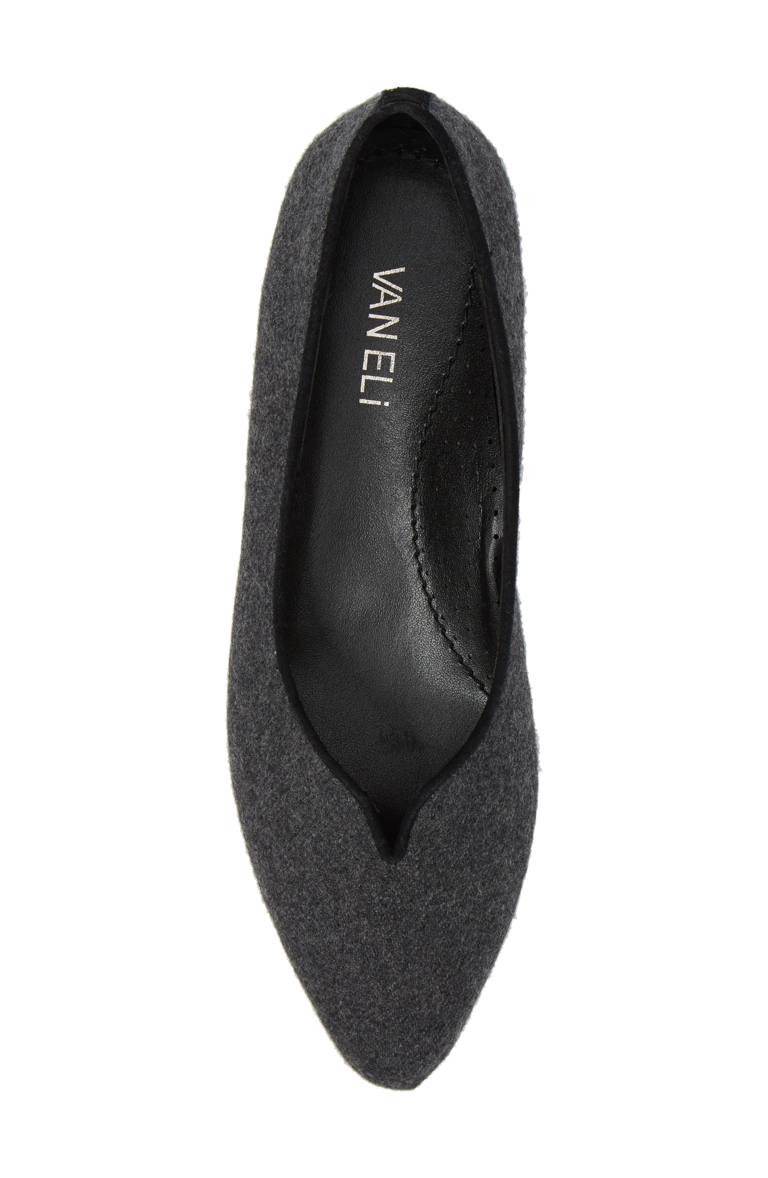 Alternate Image 5  - VANELi 'Ganet' Pointy Toe Flat (Women)