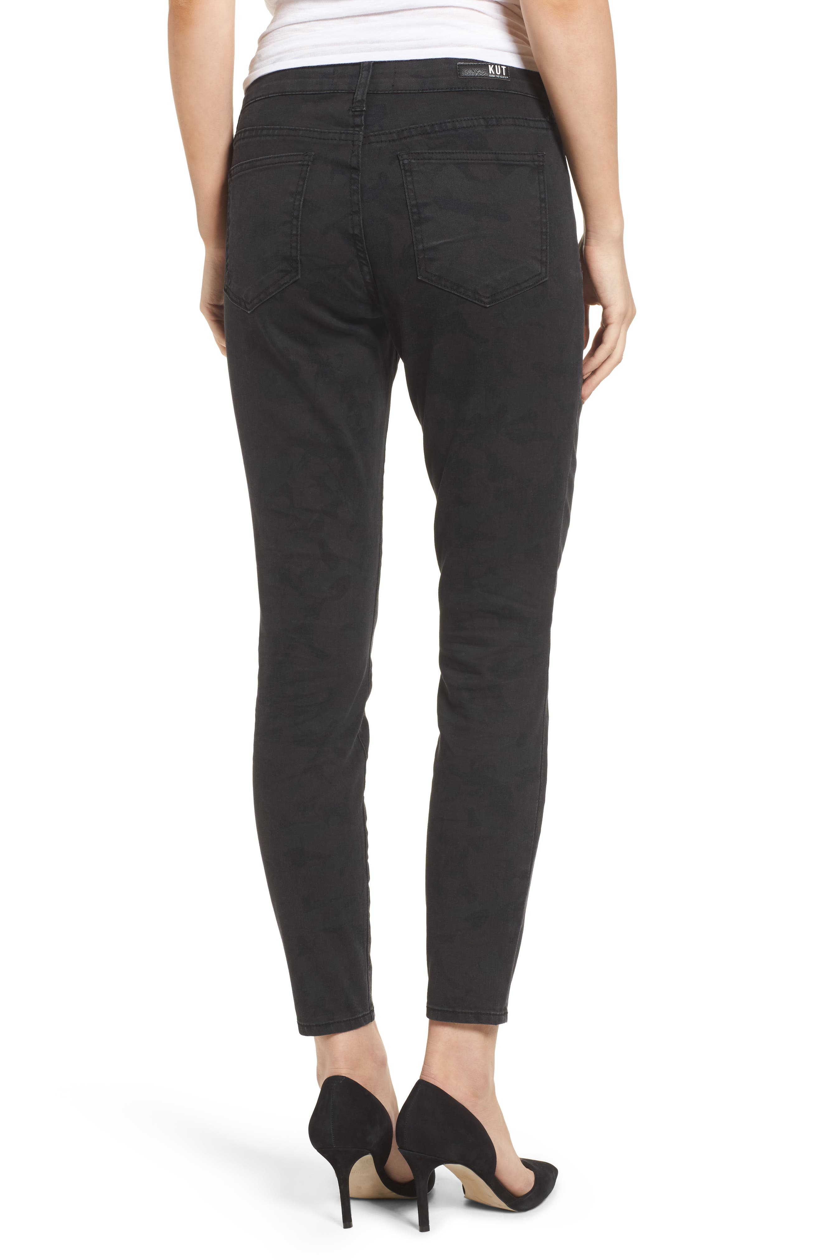 Alternate Image 2  - KUT from the Kloth Connie Skinny Ankle Jeans