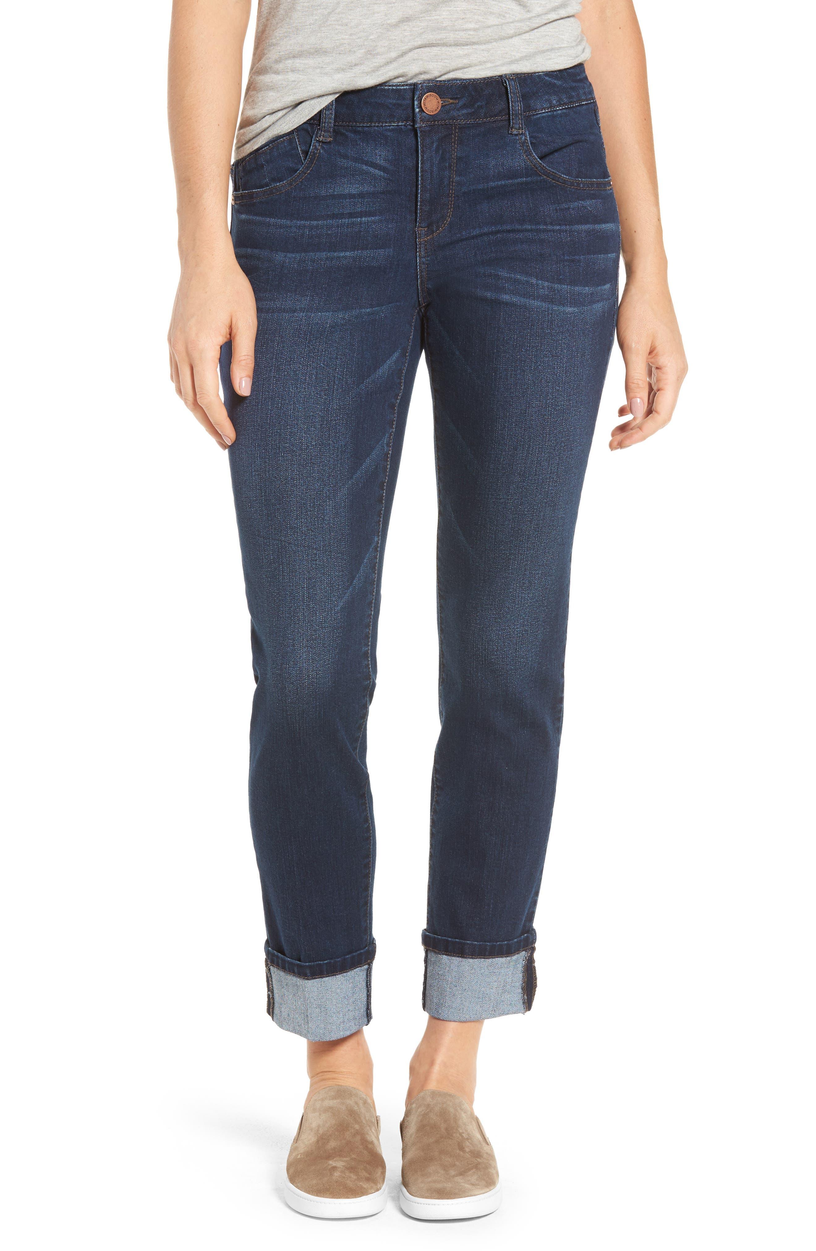Wit & Wisdom Flex-ellent Boyfriend Jeans (Nordstrom Exclusive)
