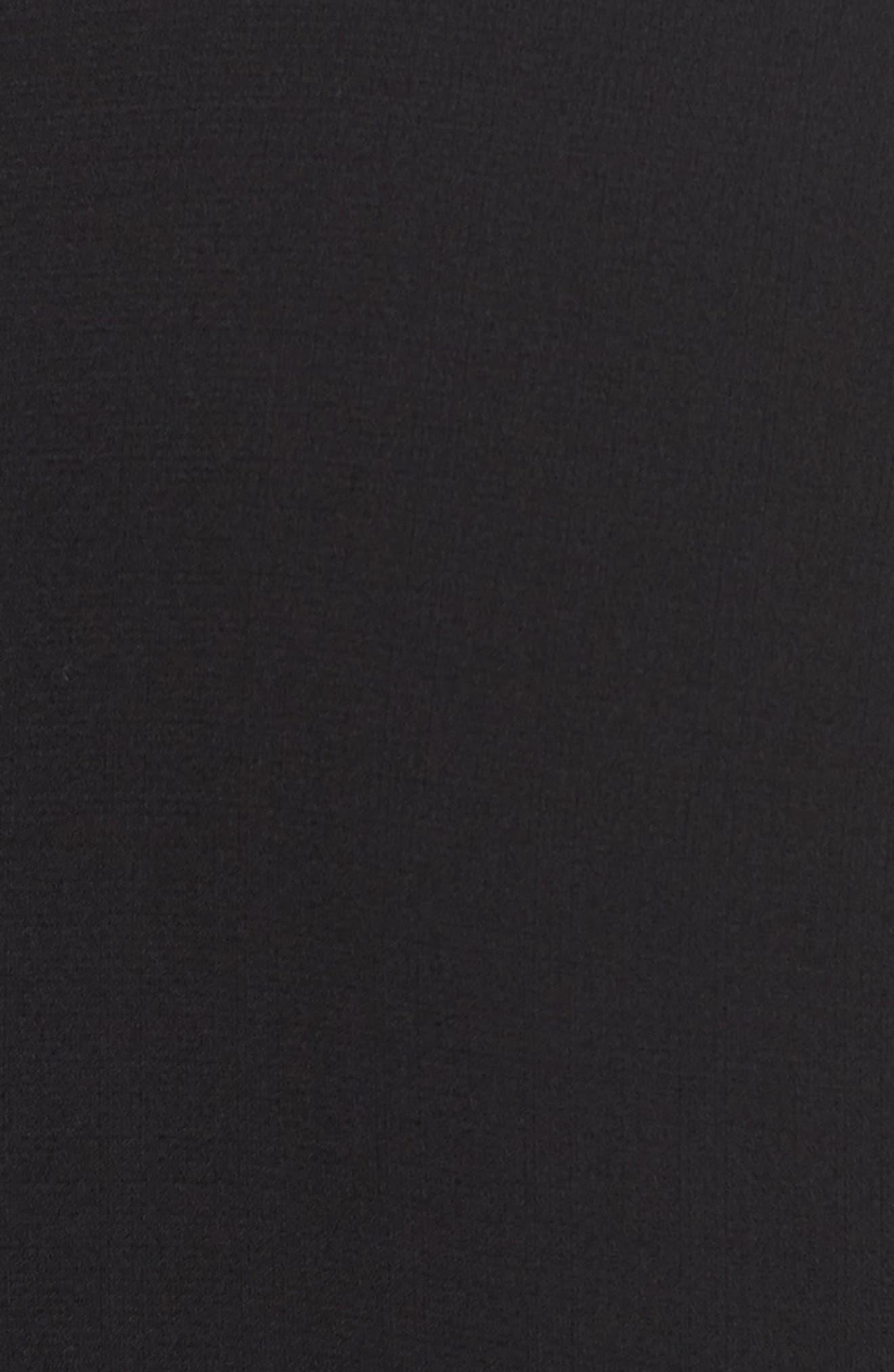 Alternate Image 5  - MOON RIVER Ruffle Hem Lace Sleeve Top