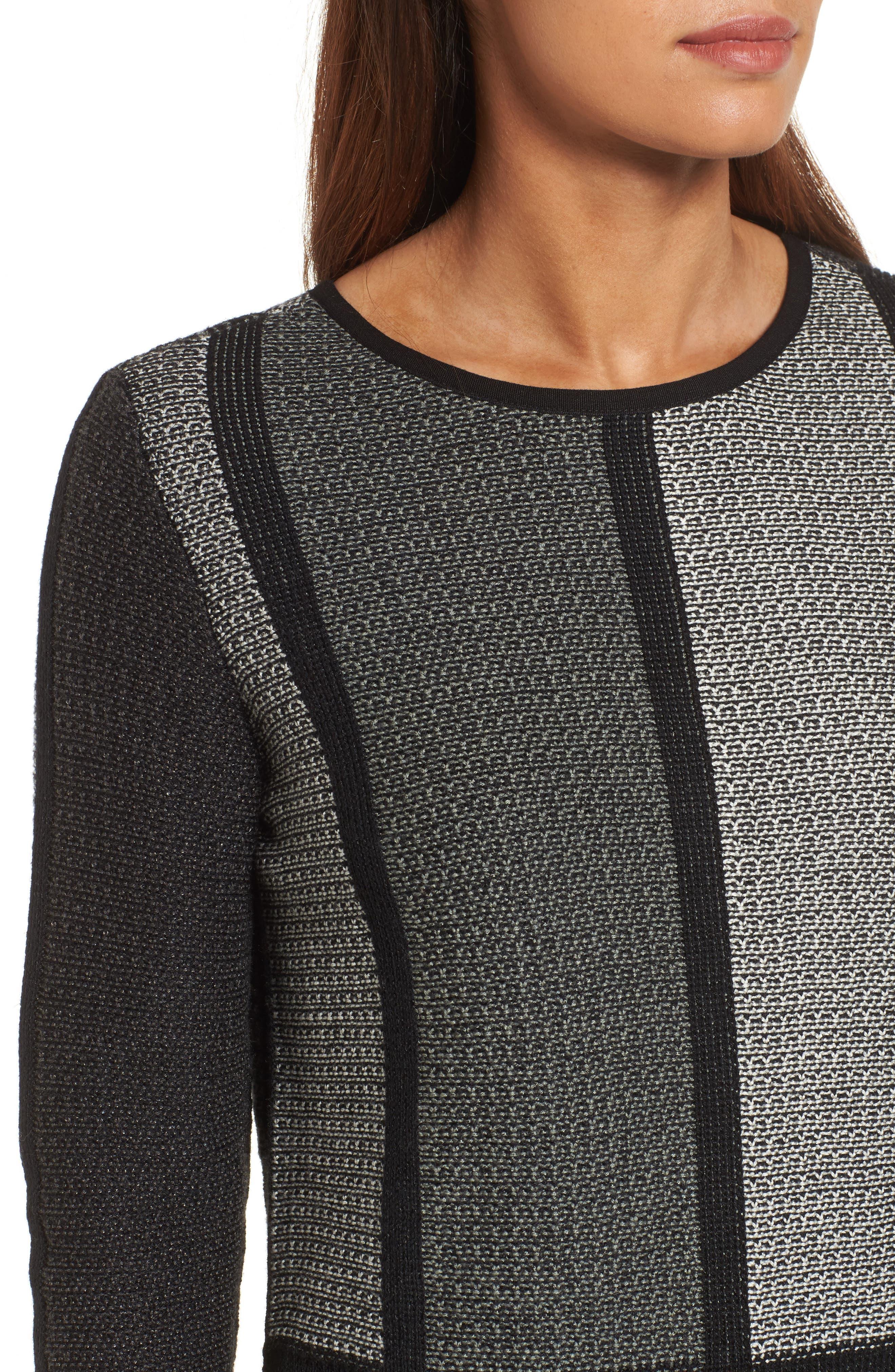 Alternate Image 4  - NIC+ZOE Around the Block Sweater (Regular & Petite)