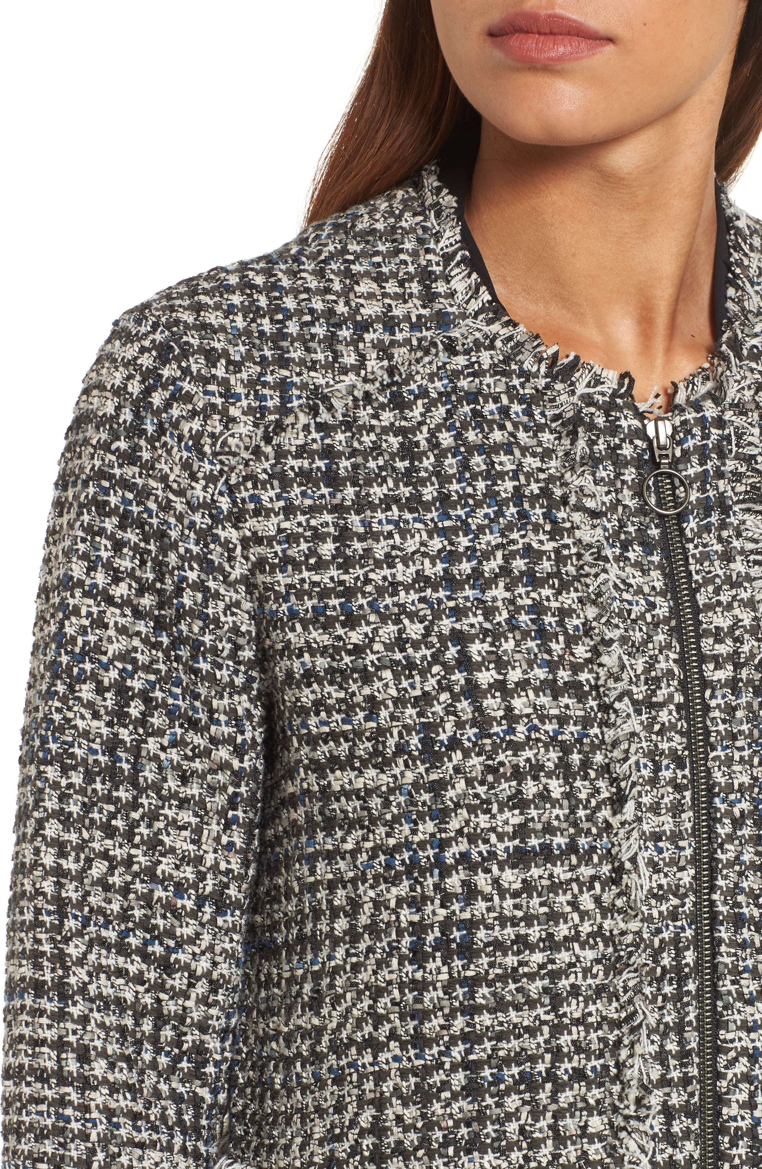 Alternate Image 4  - NIC + Zoe Speckled Tweed Jacket