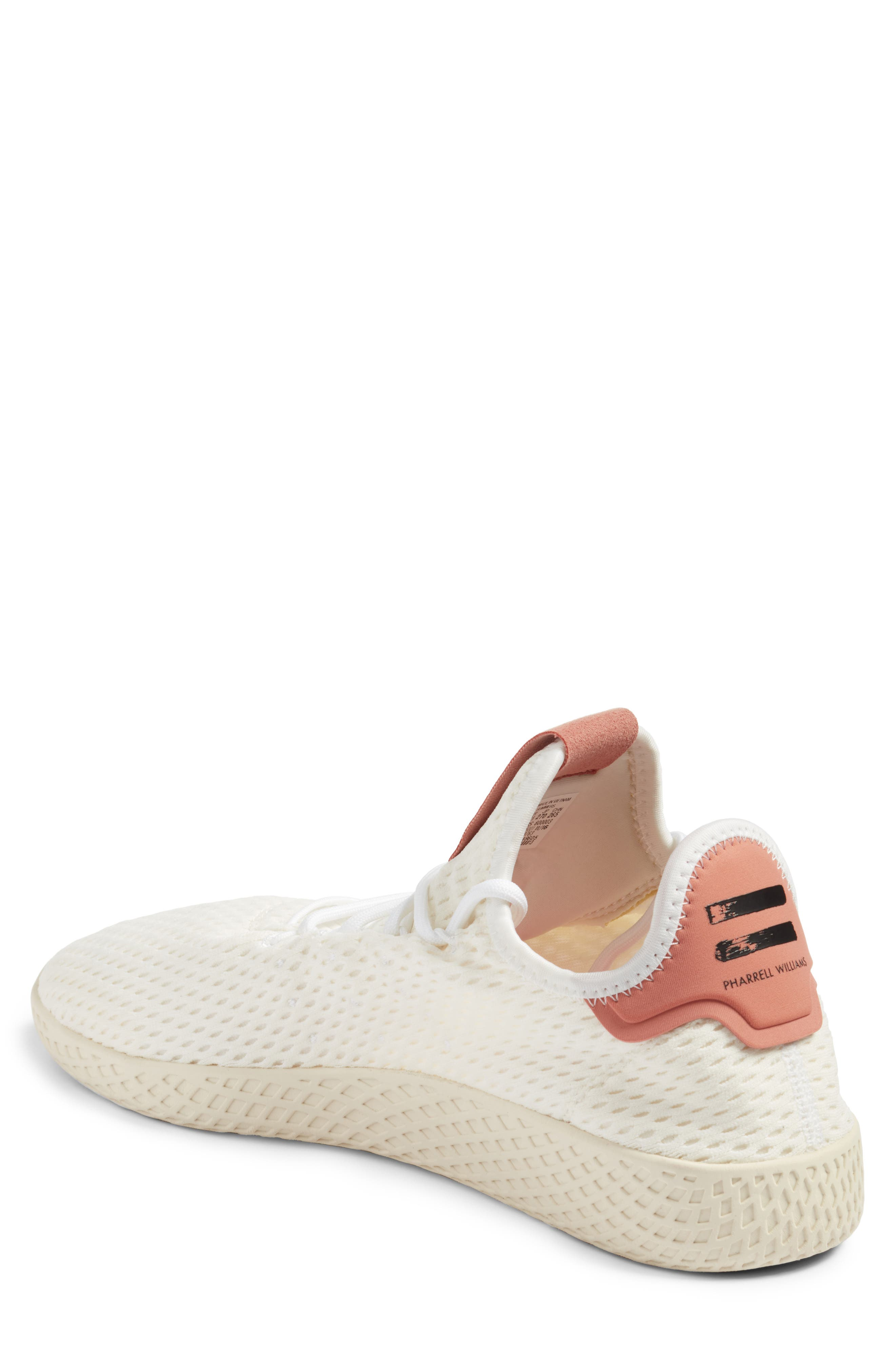Pharrell Williams Tennis Hu Sneaker,                             Alternate thumbnail 2, color,                             White/ Pink