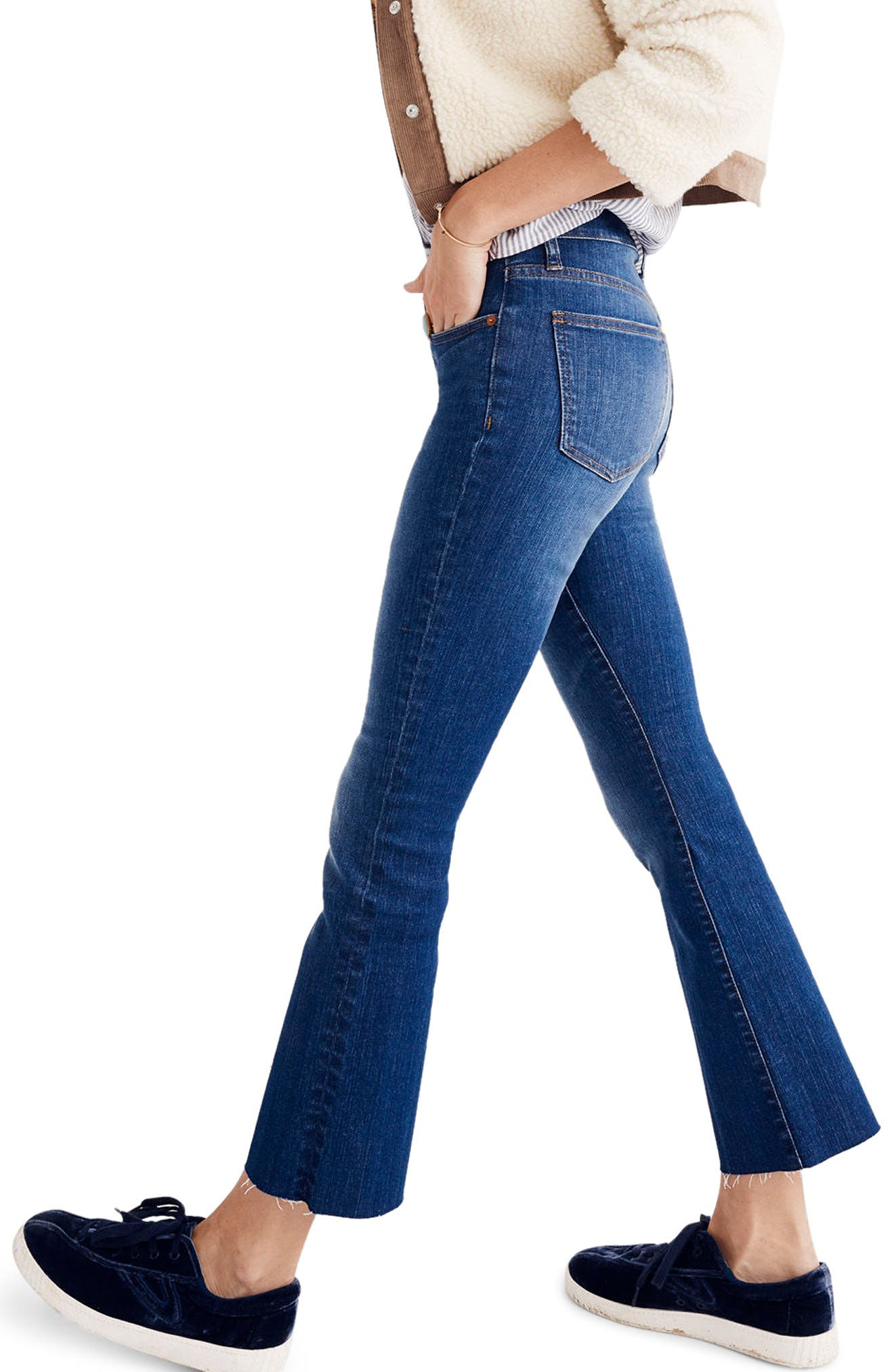 Cali Demi Boot Jeans,                             Alternate thumbnail 3, color,                             Wyoming Wash