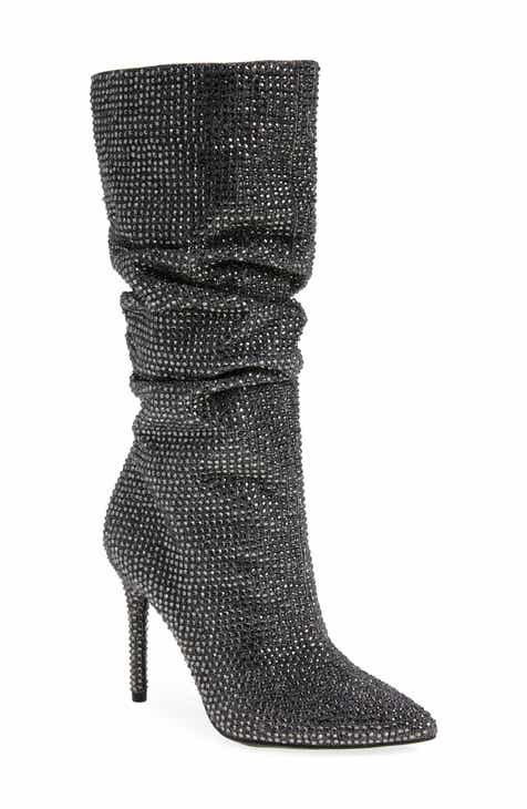 3599801c0756 Jessica Simpson Layzer Embellished Slouch Boot (Women)