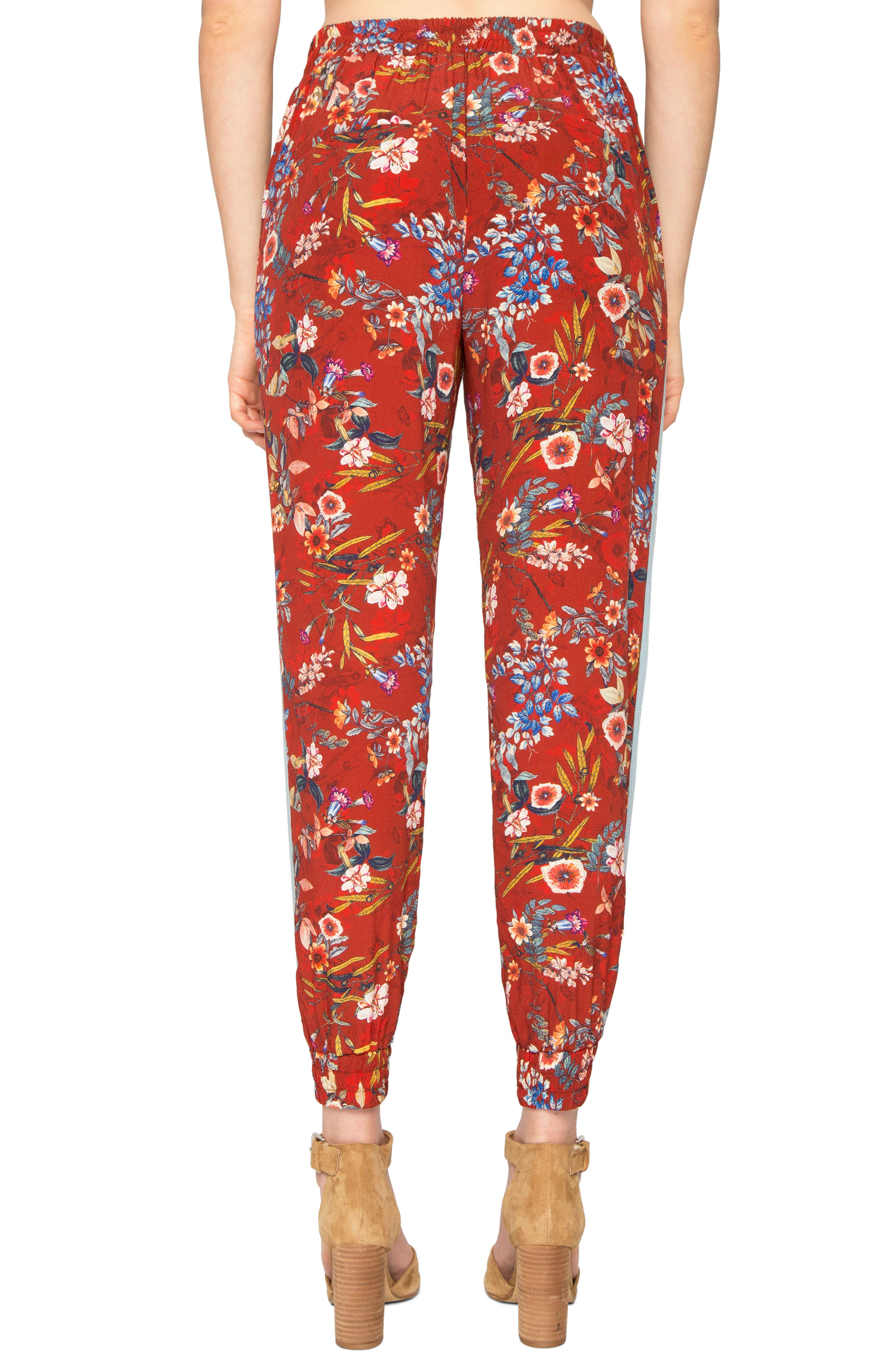 Alternate Image 2  - Willow & Clay Print Jogger Pants