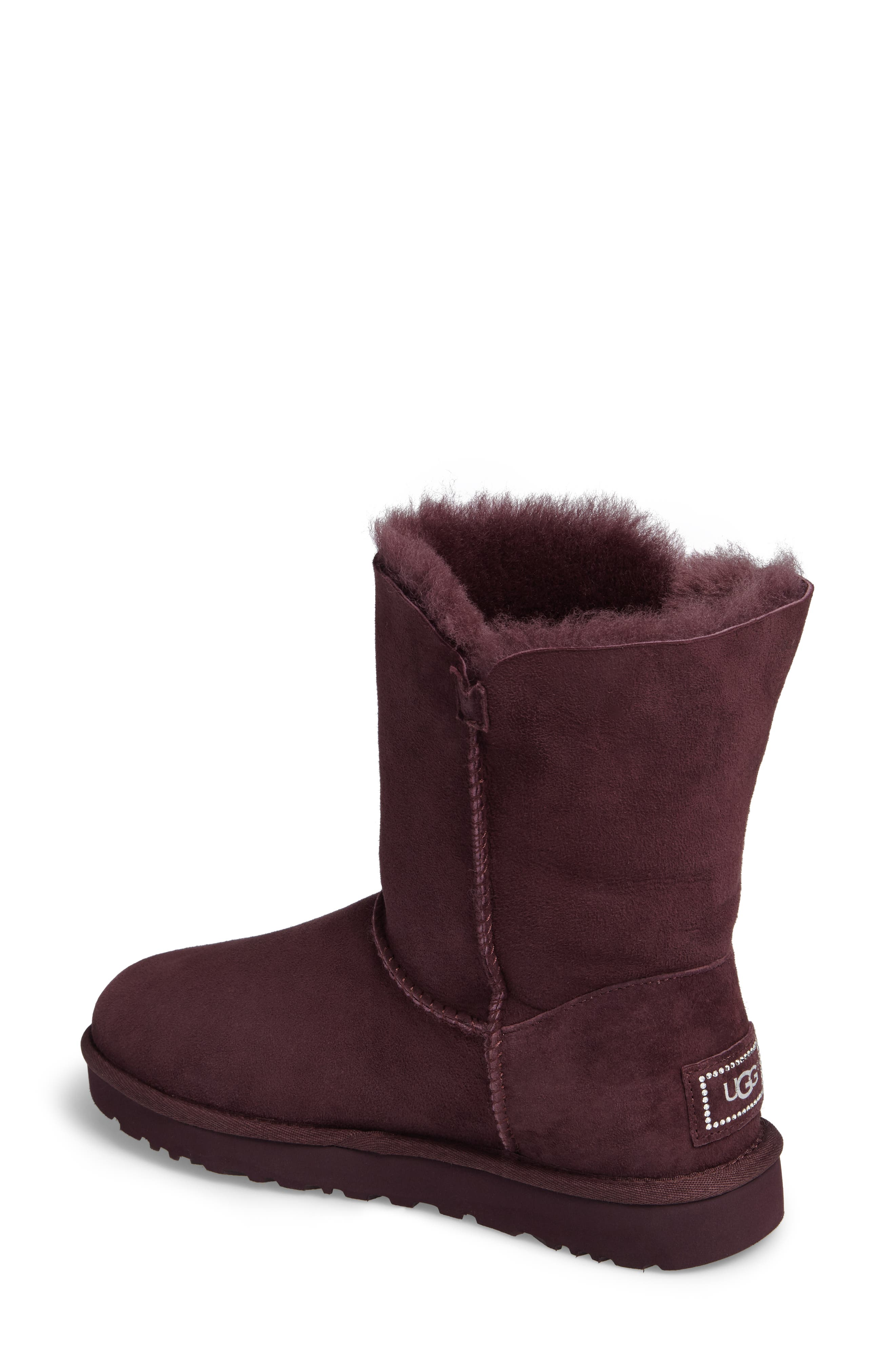 Alternate Image 2  - UGG® Bailey Button Bling Genuine Shearling Boot (Women)