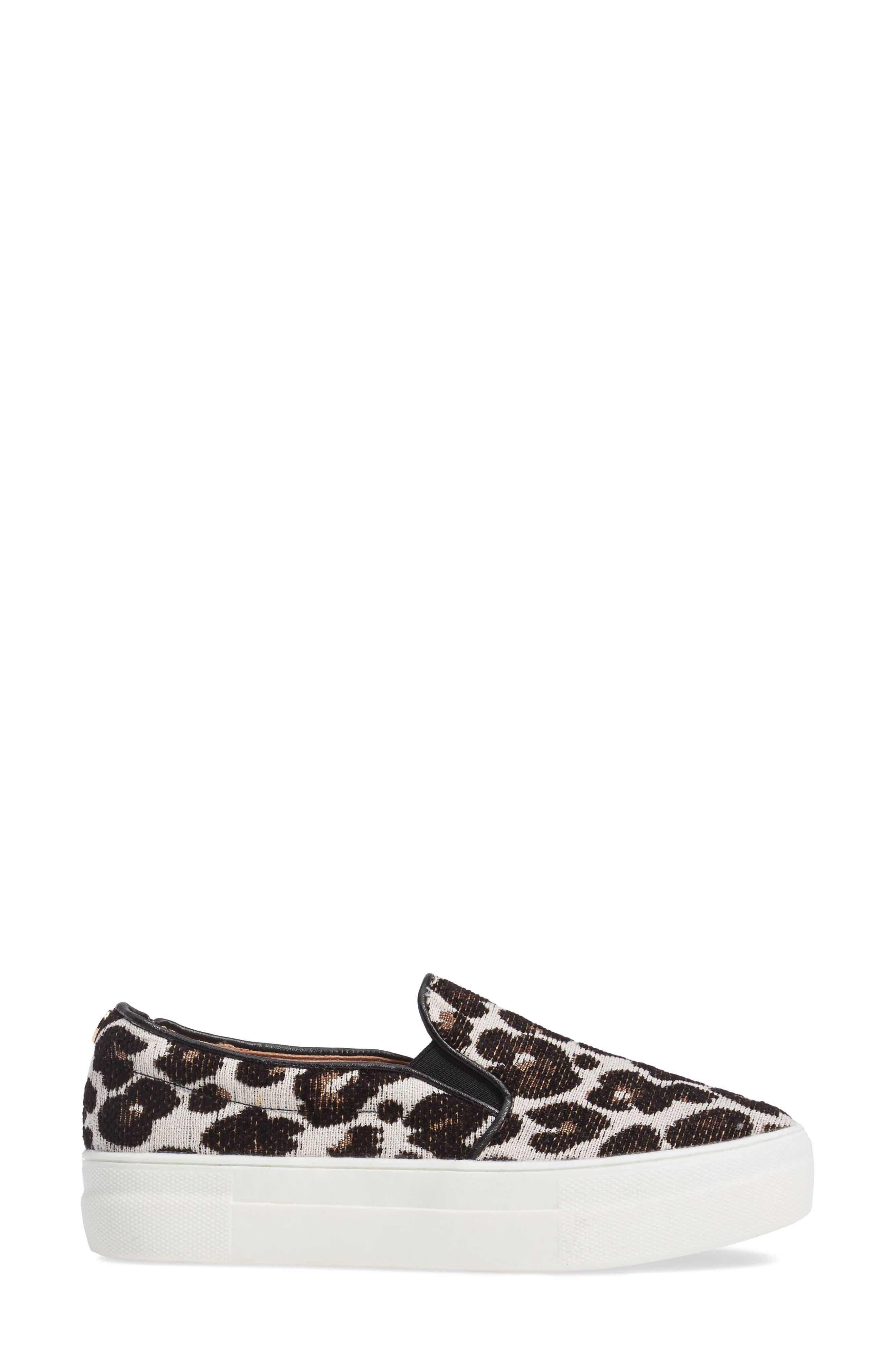 Alternate Image 3  - Topshop Tucker Leopard Print Slip-On Sneaker (Women)