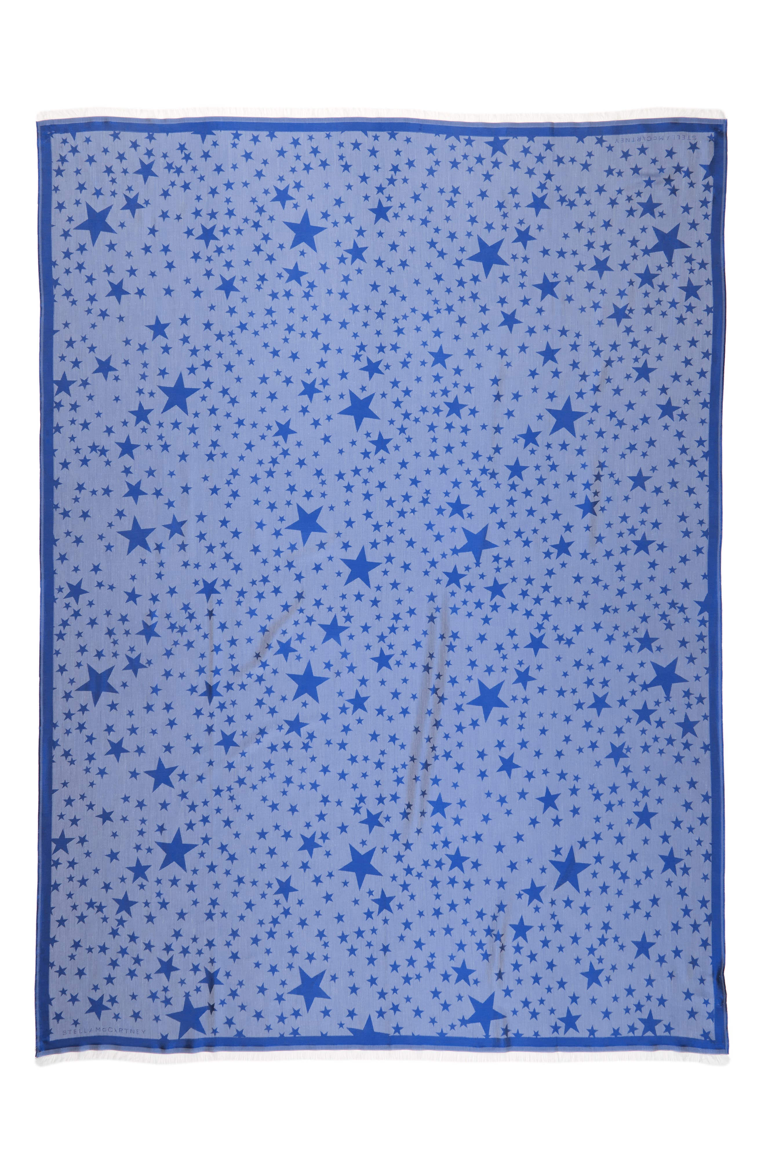 Alternate Image 2  - Stella McCartney Star Jacquard Silk & Modal Scarf