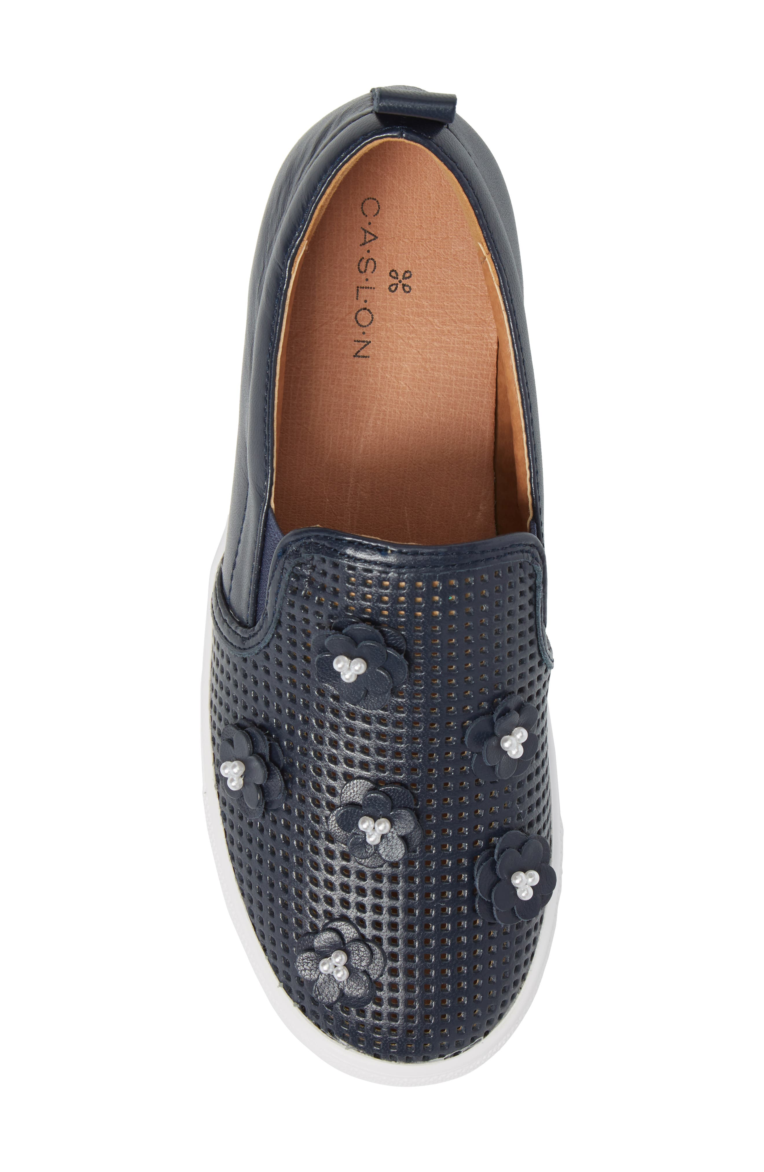 Alternate Image 5  - Caslon® Eden Perforated Slip-On Sneaker (Women)