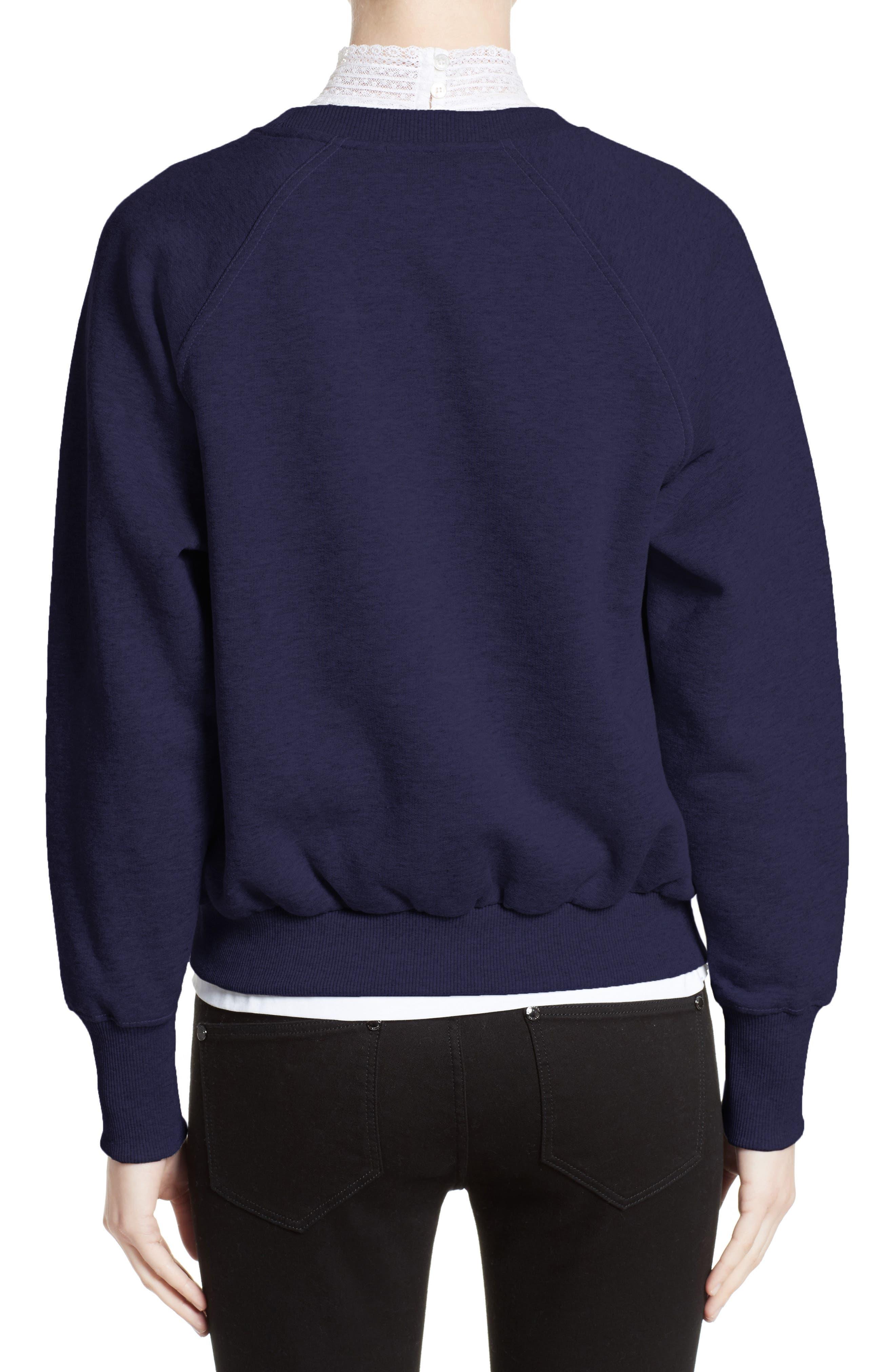 Alternate Image 2  - Burberry Torto Embroidered Sweatshirt
