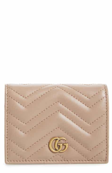 fedca20627d Gucci GG Marmont Matelassé Leather Card Case