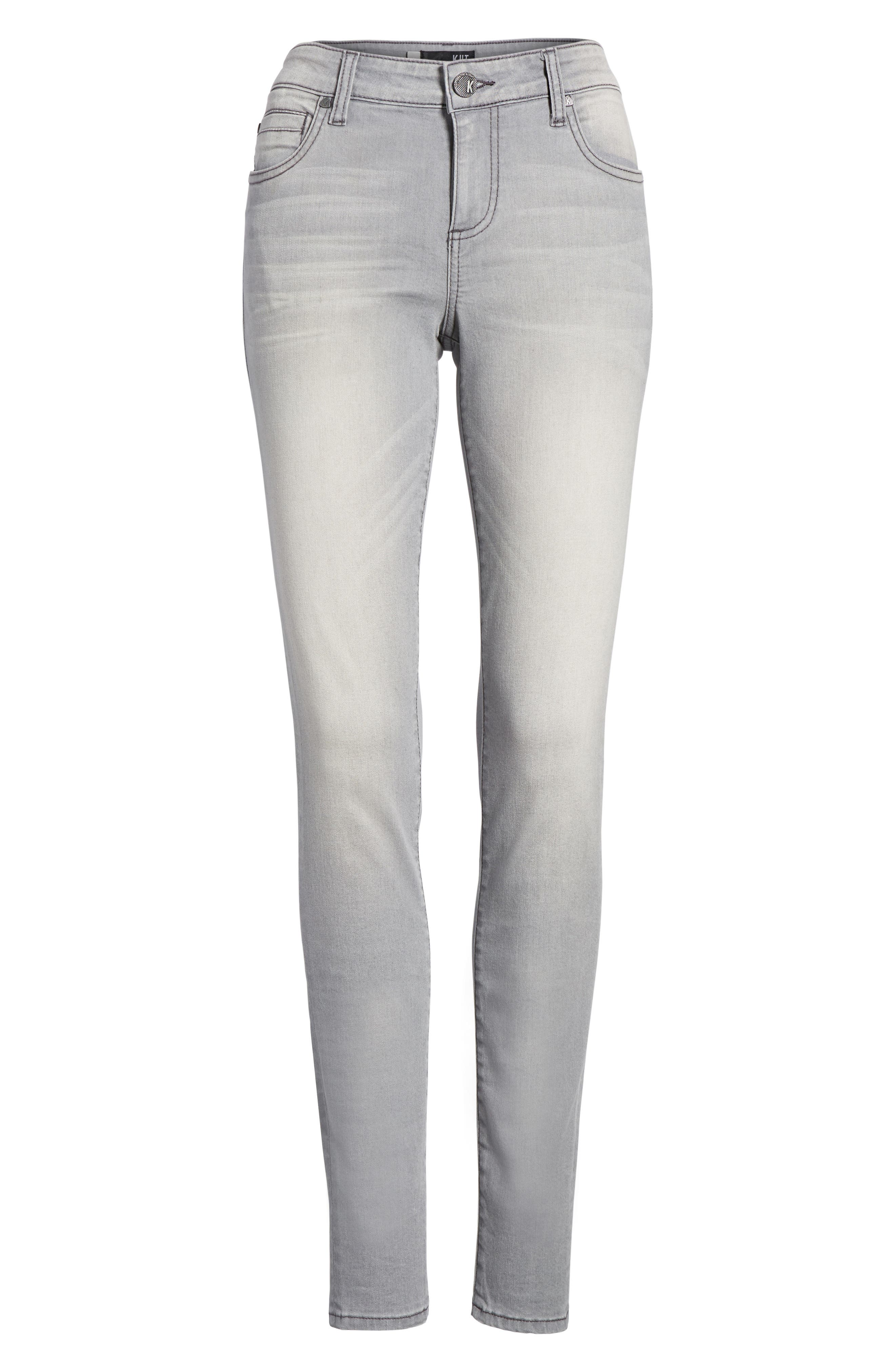 Alternate Image 6  - Kut from the Kloth Mia Skinny Jeans (Prevailed)