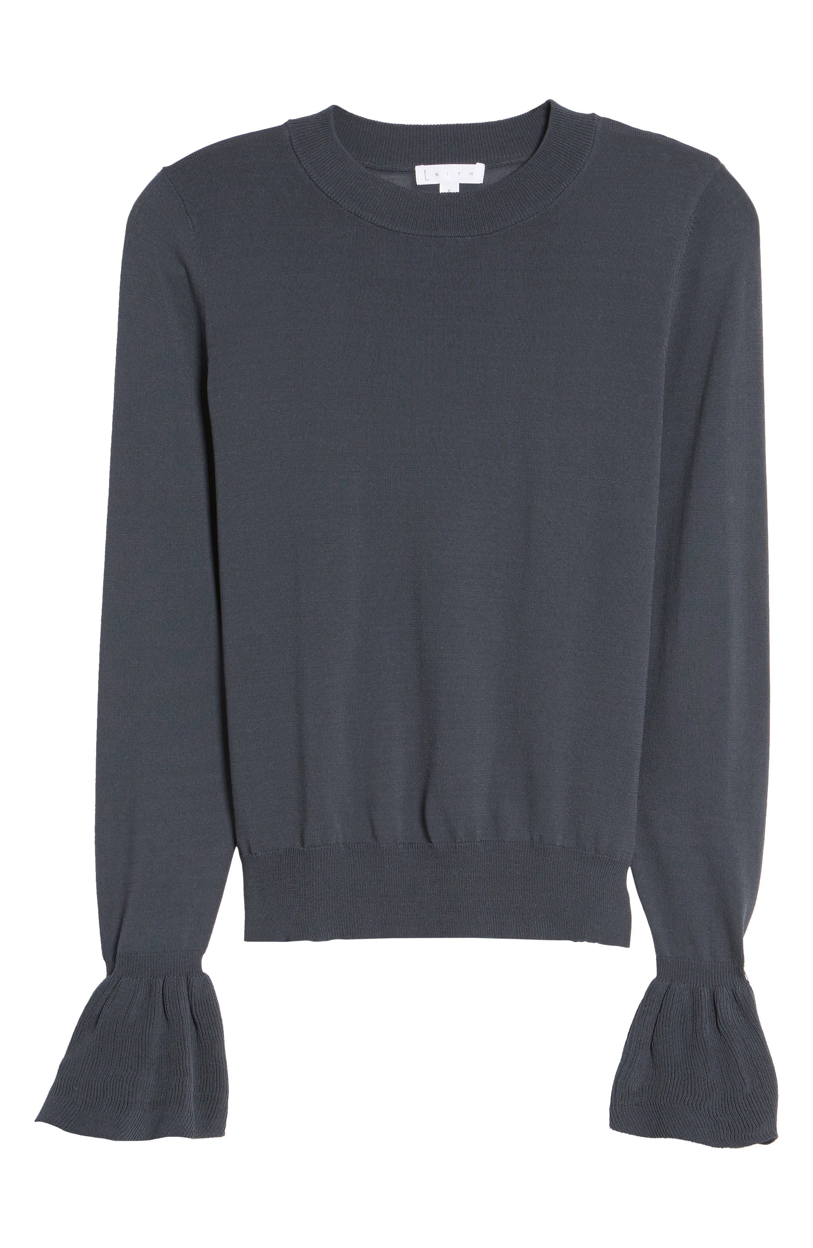 Alternate Image 6  - Leith Flare Cuff Sweater