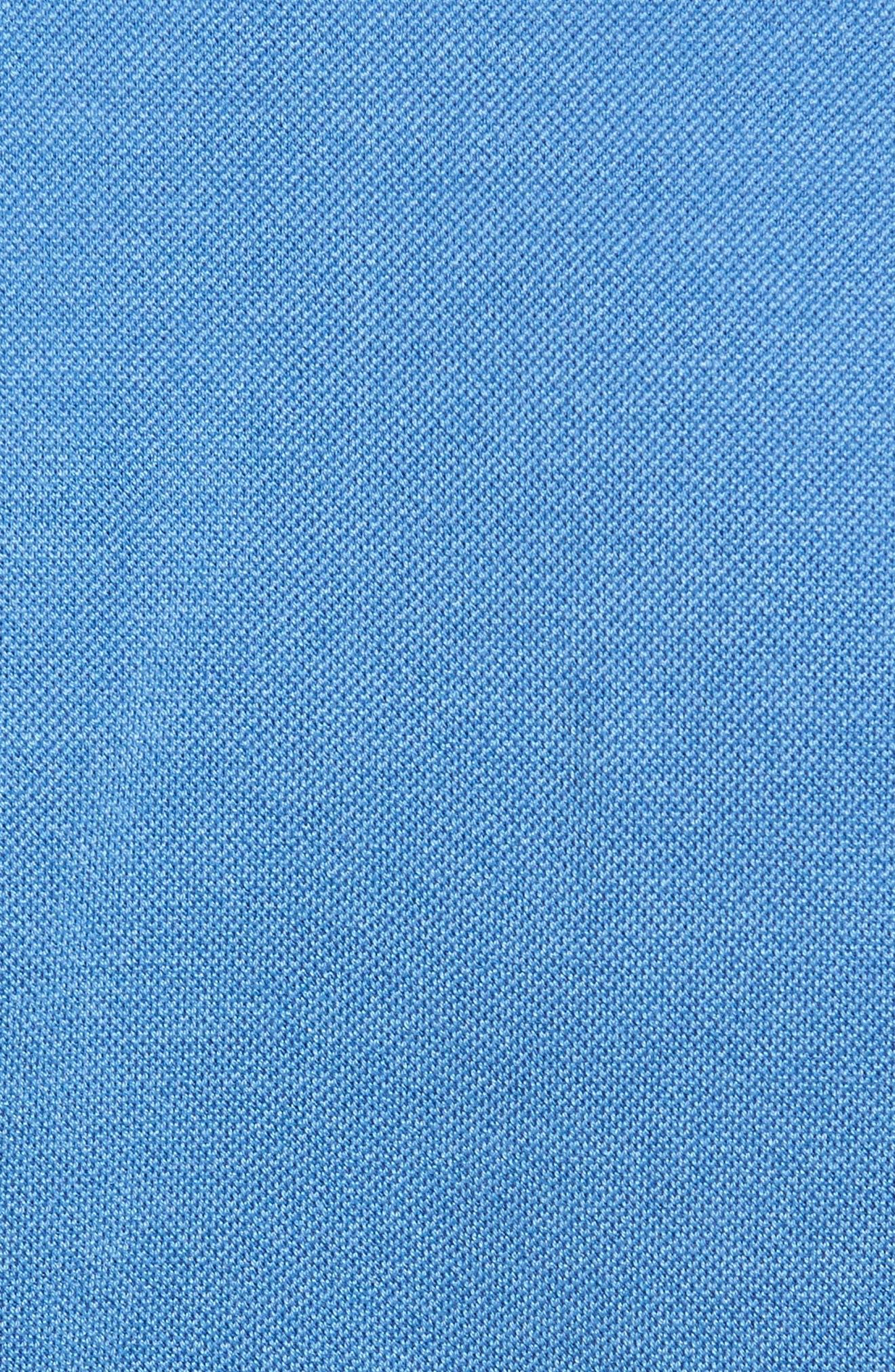 Perfect Piqué Polo,                             Alternate thumbnail 5, color,                             Avio Blue