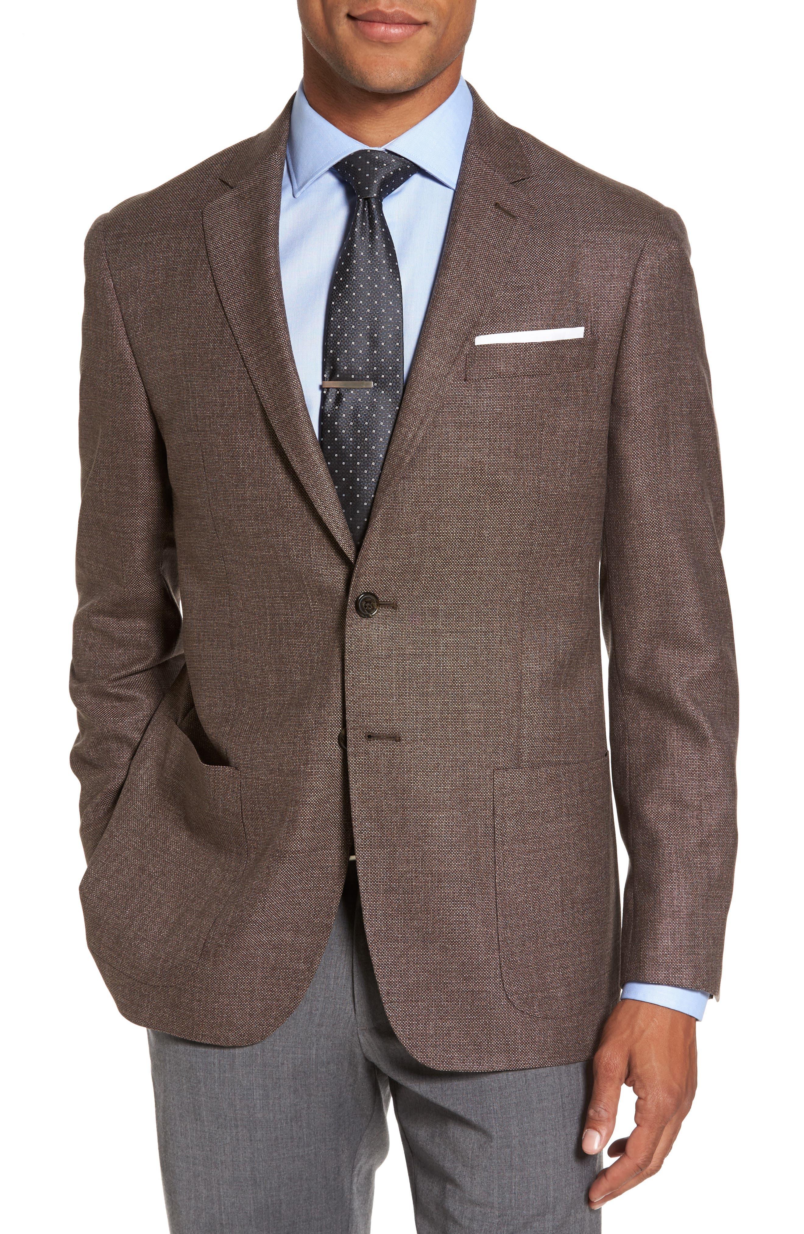 Todd Snyder White Label Trim Fit Wool Blazer