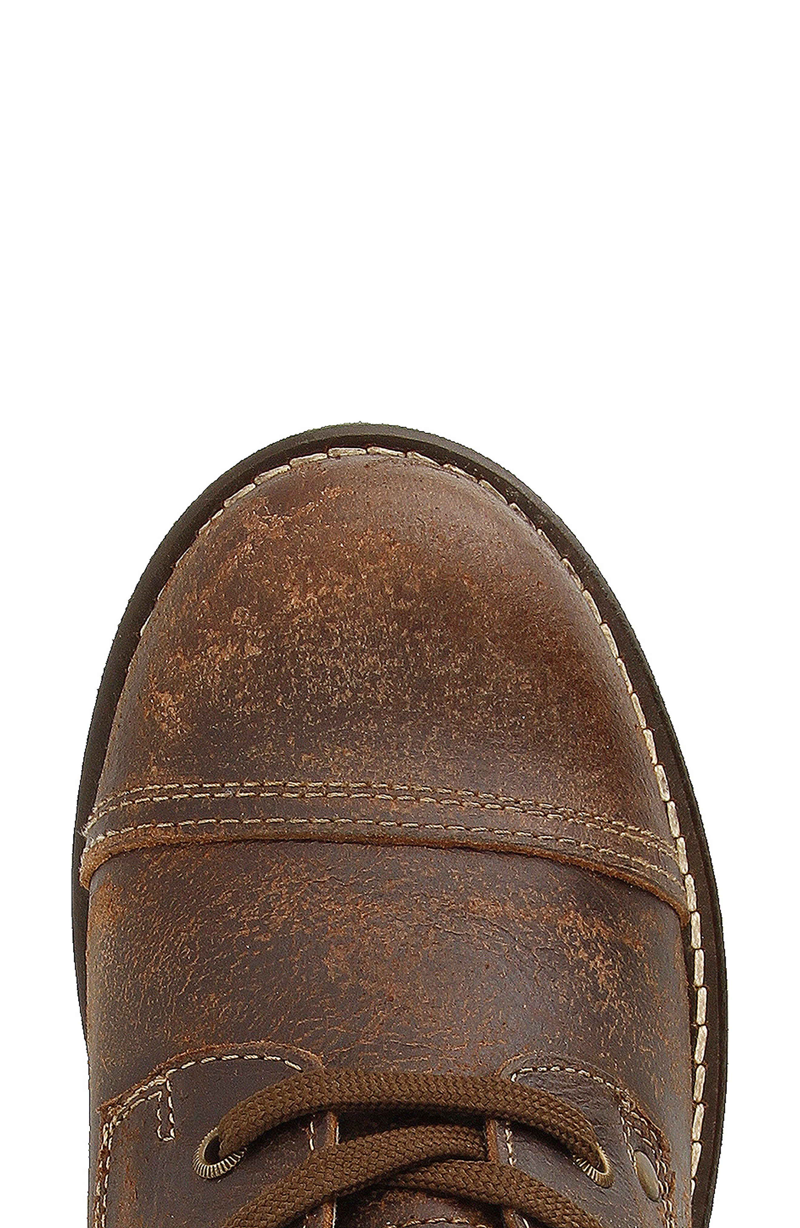 Crave Boot,                             Alternate thumbnail 4, color,                             Brown Leather
