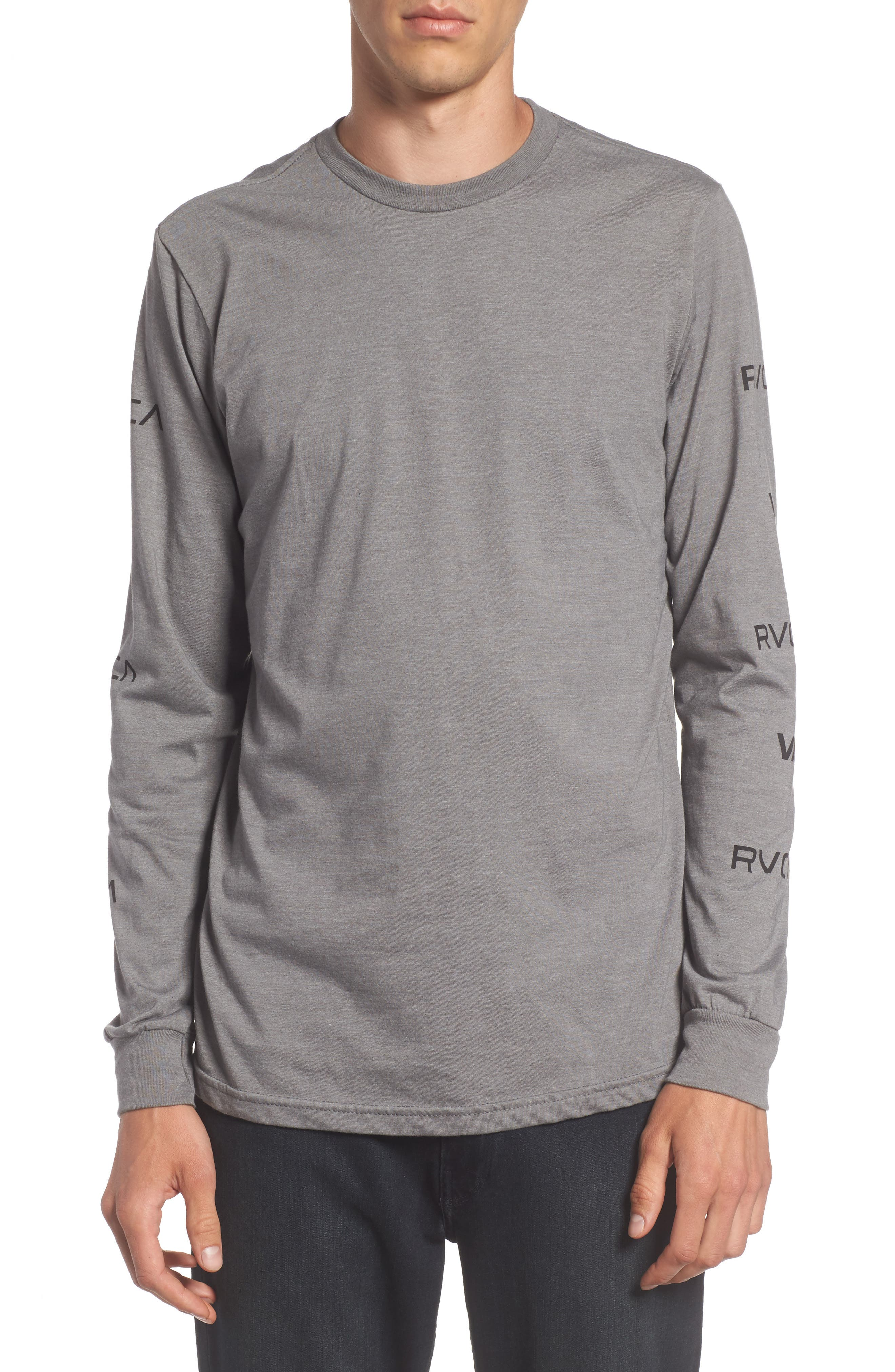 Main Image - RVCA Brand Stack Graphic T-Shirt