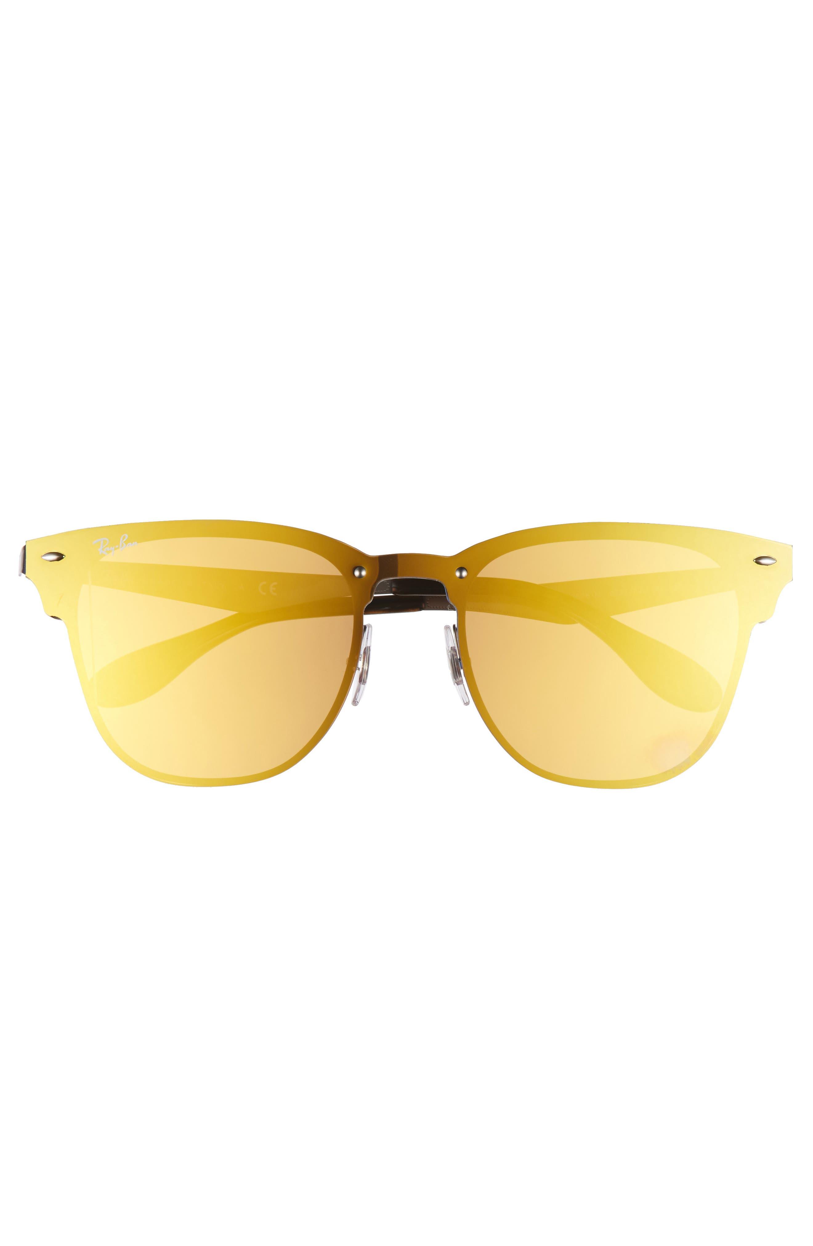 Alternate Image 4  - Ray-Ban 52mm Mirrored Sunglasses