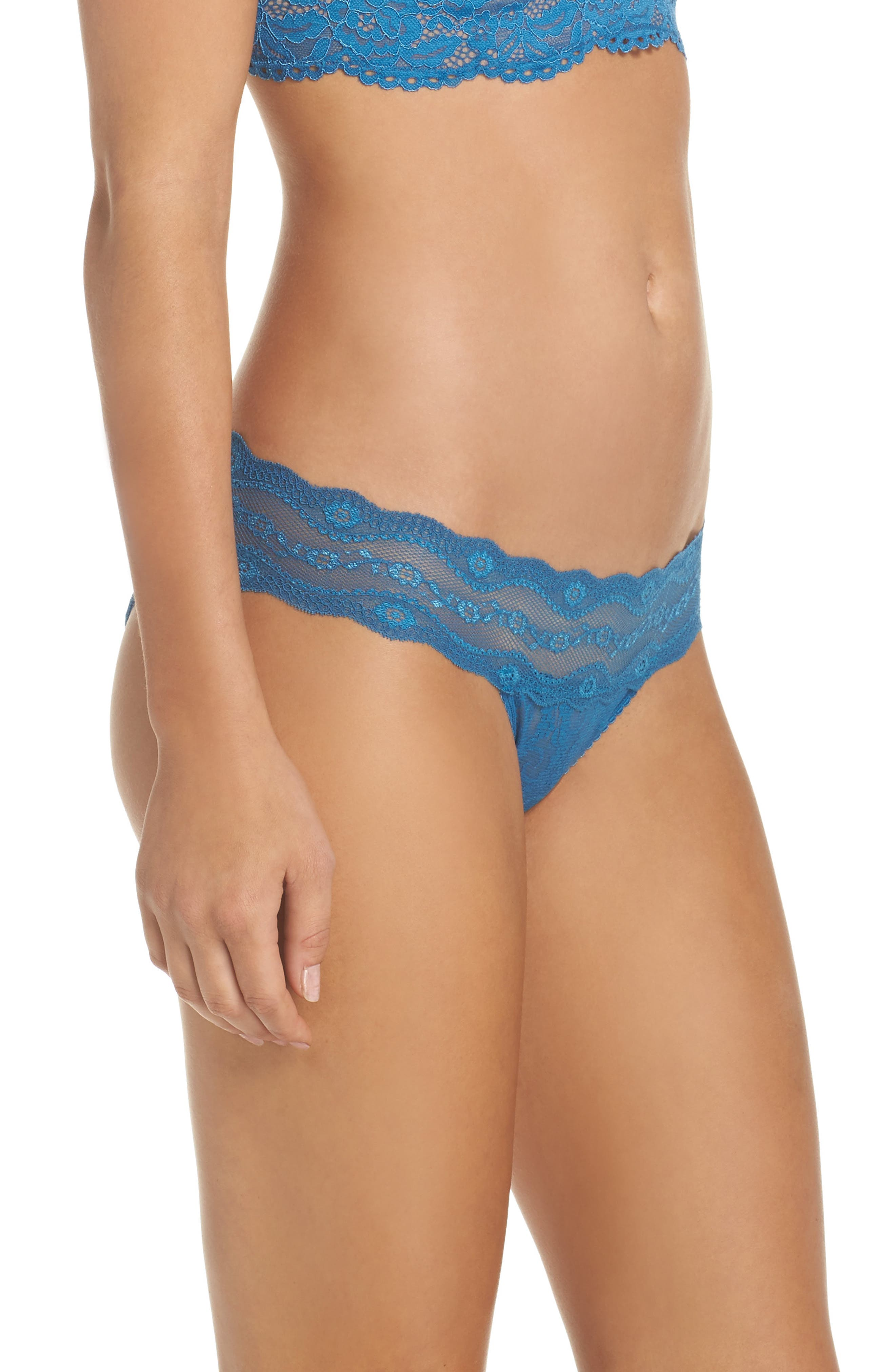 Alternate Image 3  - b.tempt'd by Wacoal 'Lace Kiss' Bikini (3 for $33)