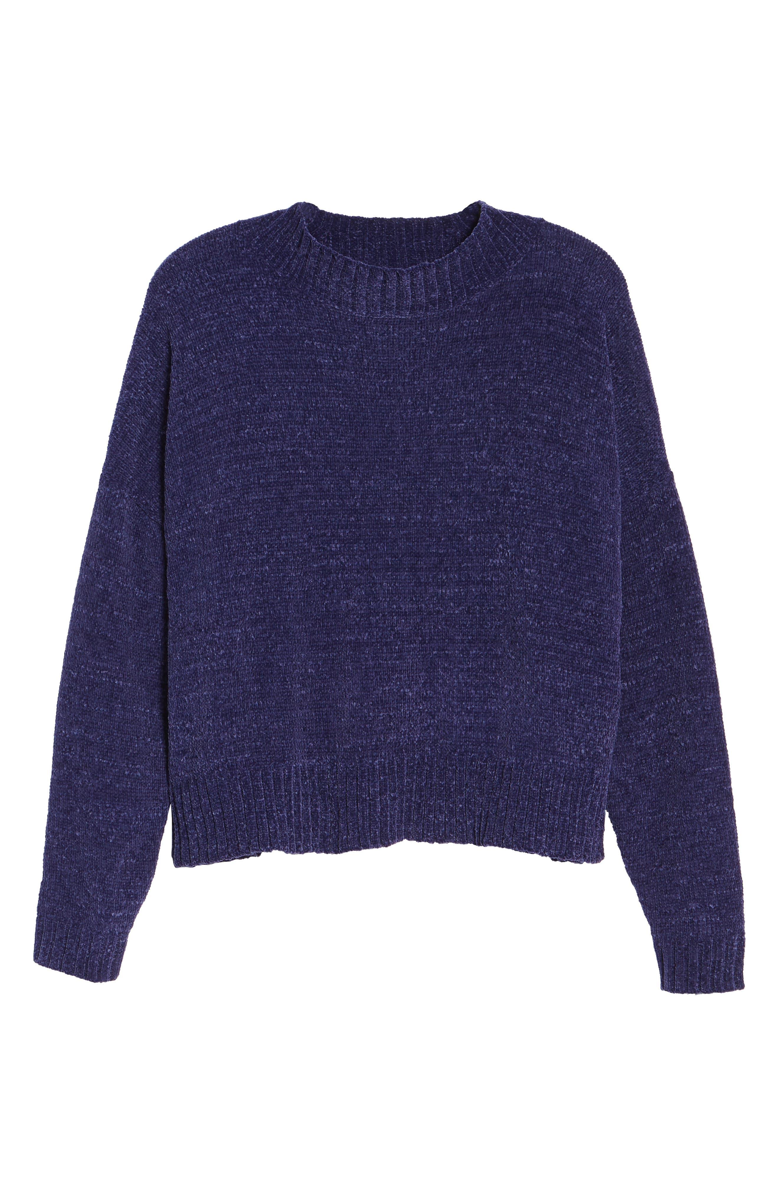 Alternate Image 6  - BP. Chenille Funnel Neck Sweater
