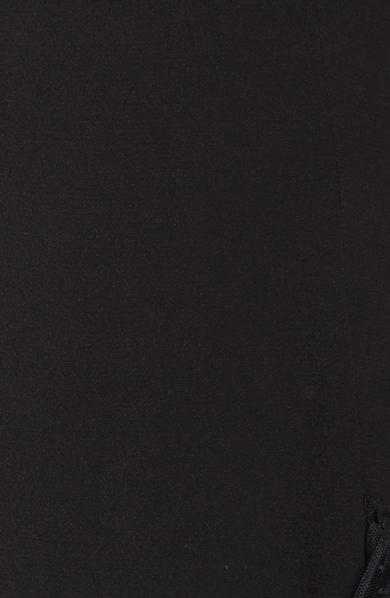 Evie Minidress,                             Alternate thumbnail 5, color,                             Black