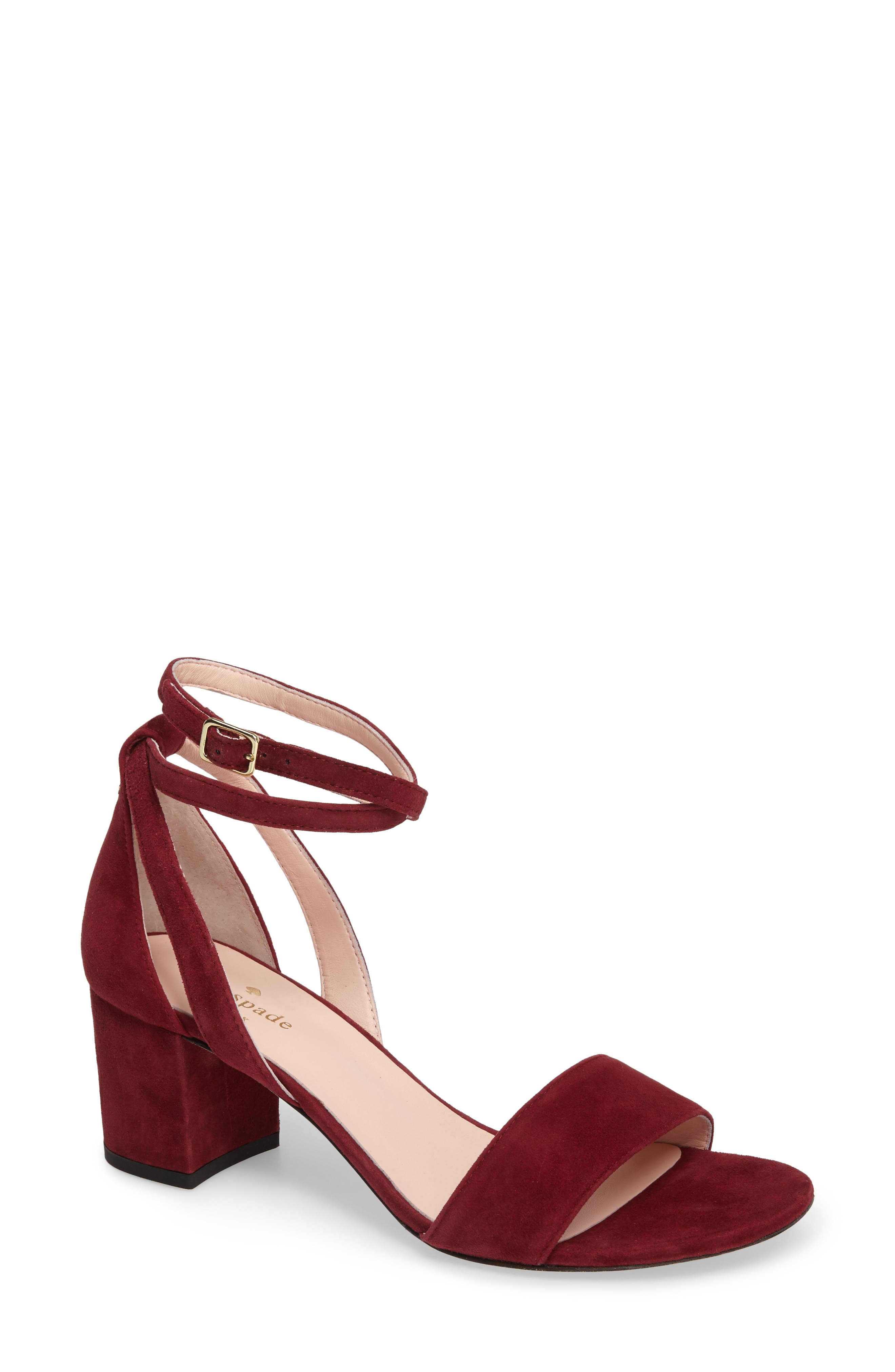 Alternate Image 1 Selected - kate spade new york watson block heel sandal (Women)