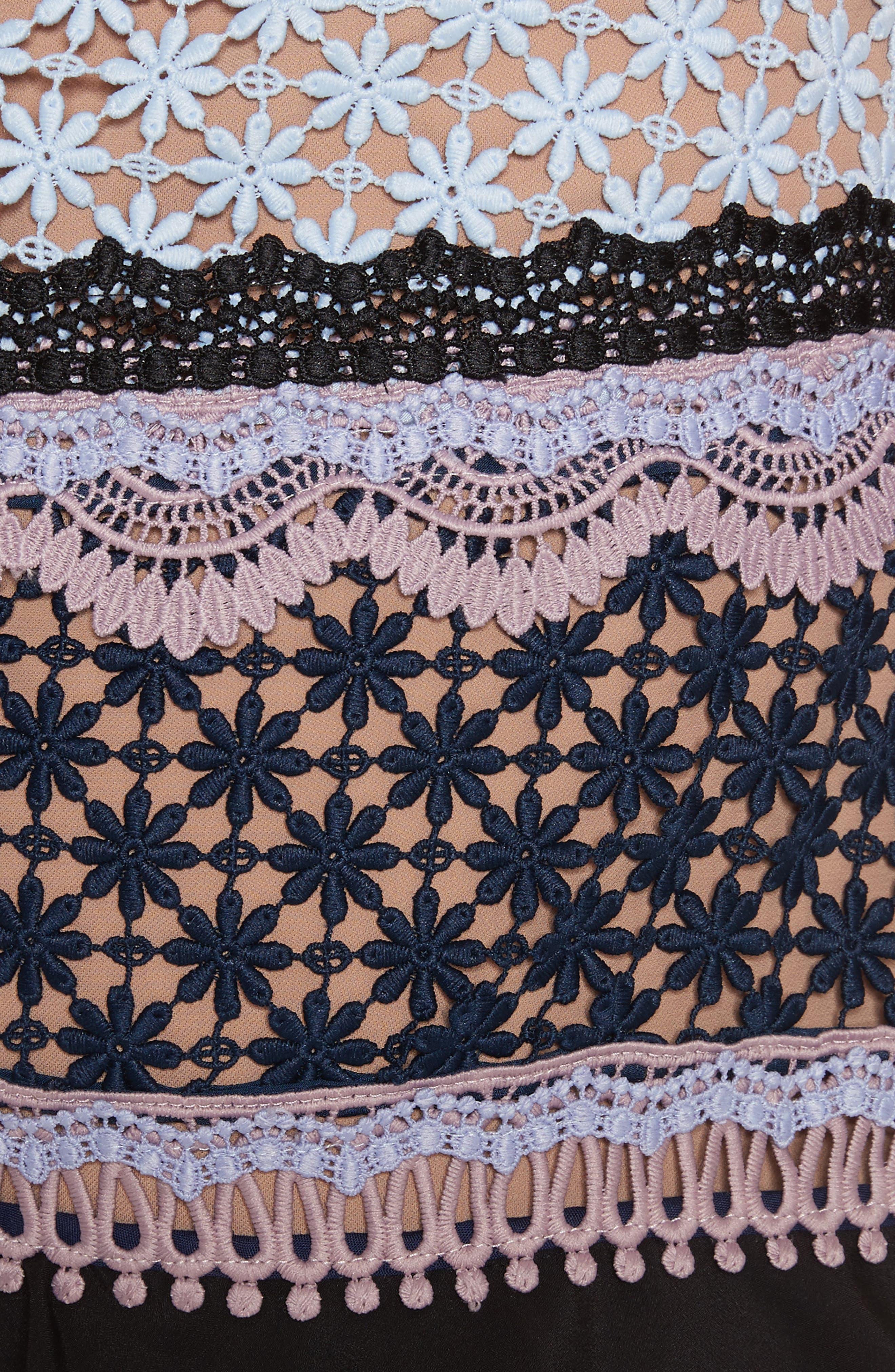 Alternate Image 5  - Self-Portrait Bellis Frill Lace Dress