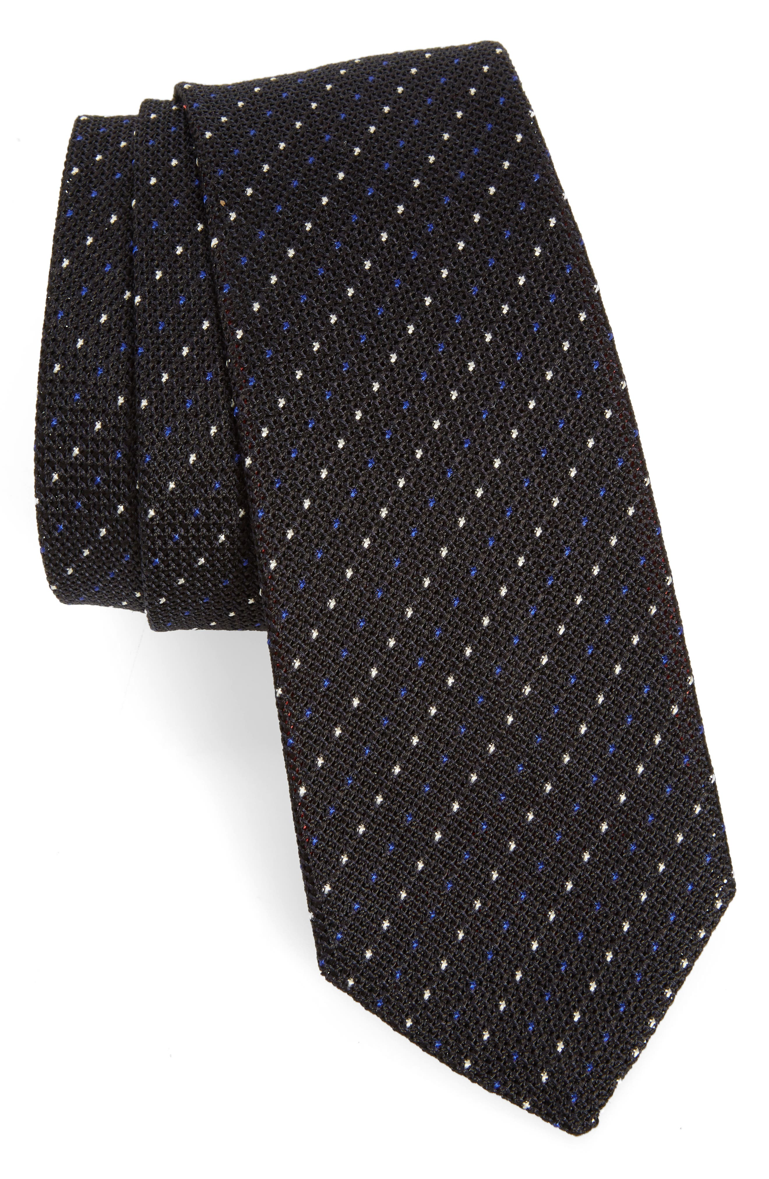 Paul Smith Dot Stripe Silk Tie