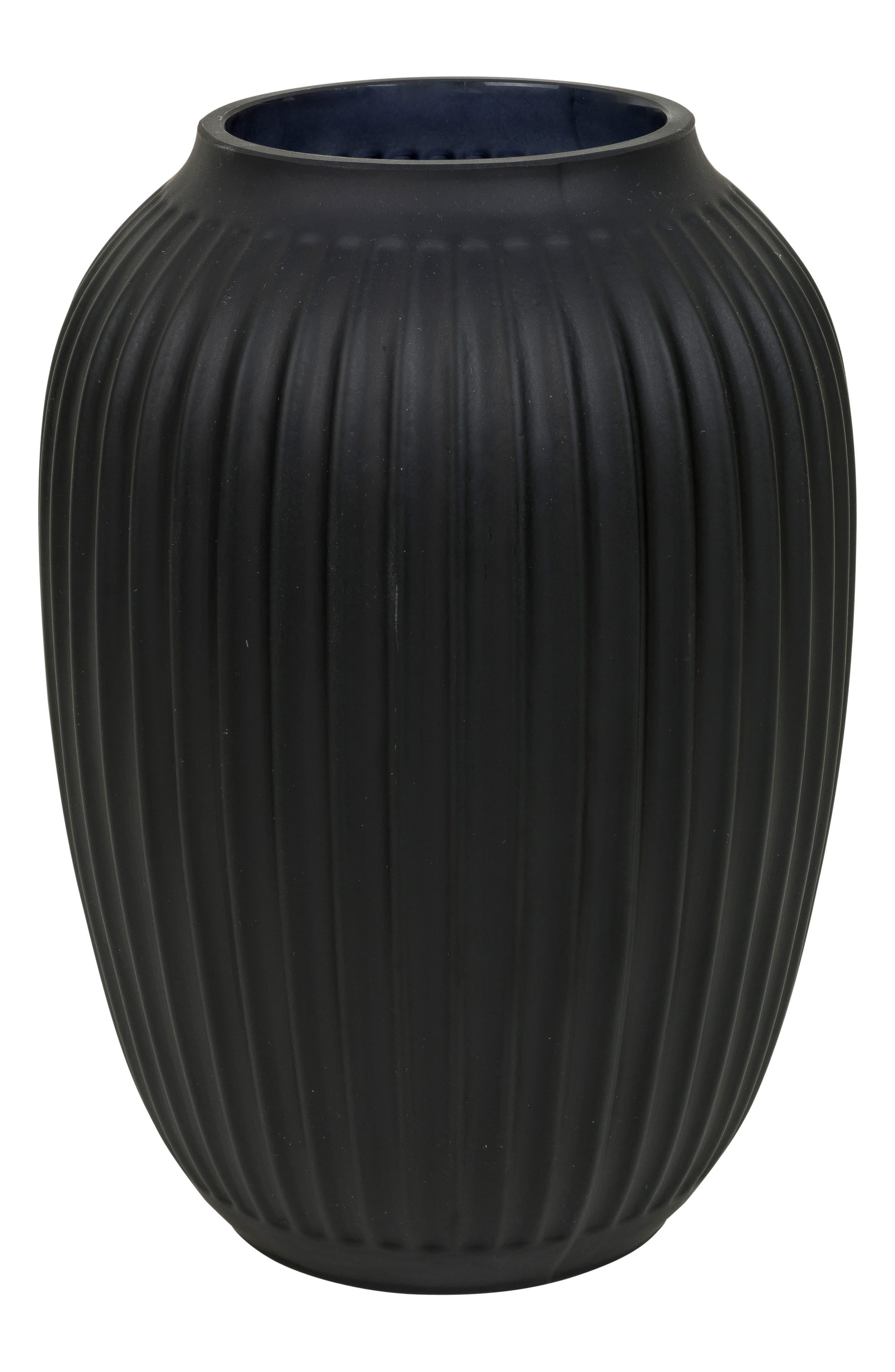 Visby Vase,                         Main,                         color, Black