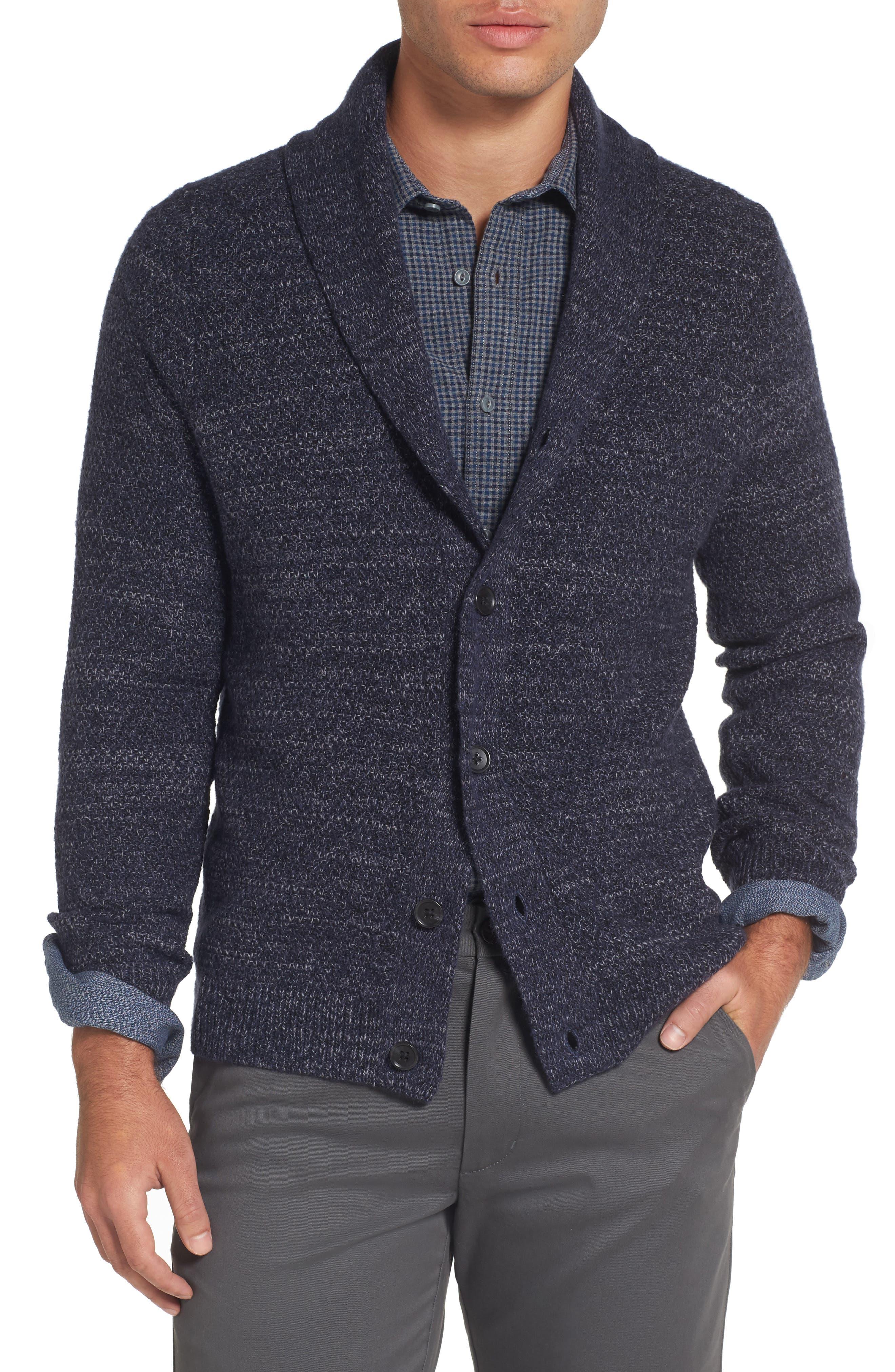 Nordstrom Men's Shop Shawl Collar Cardigan