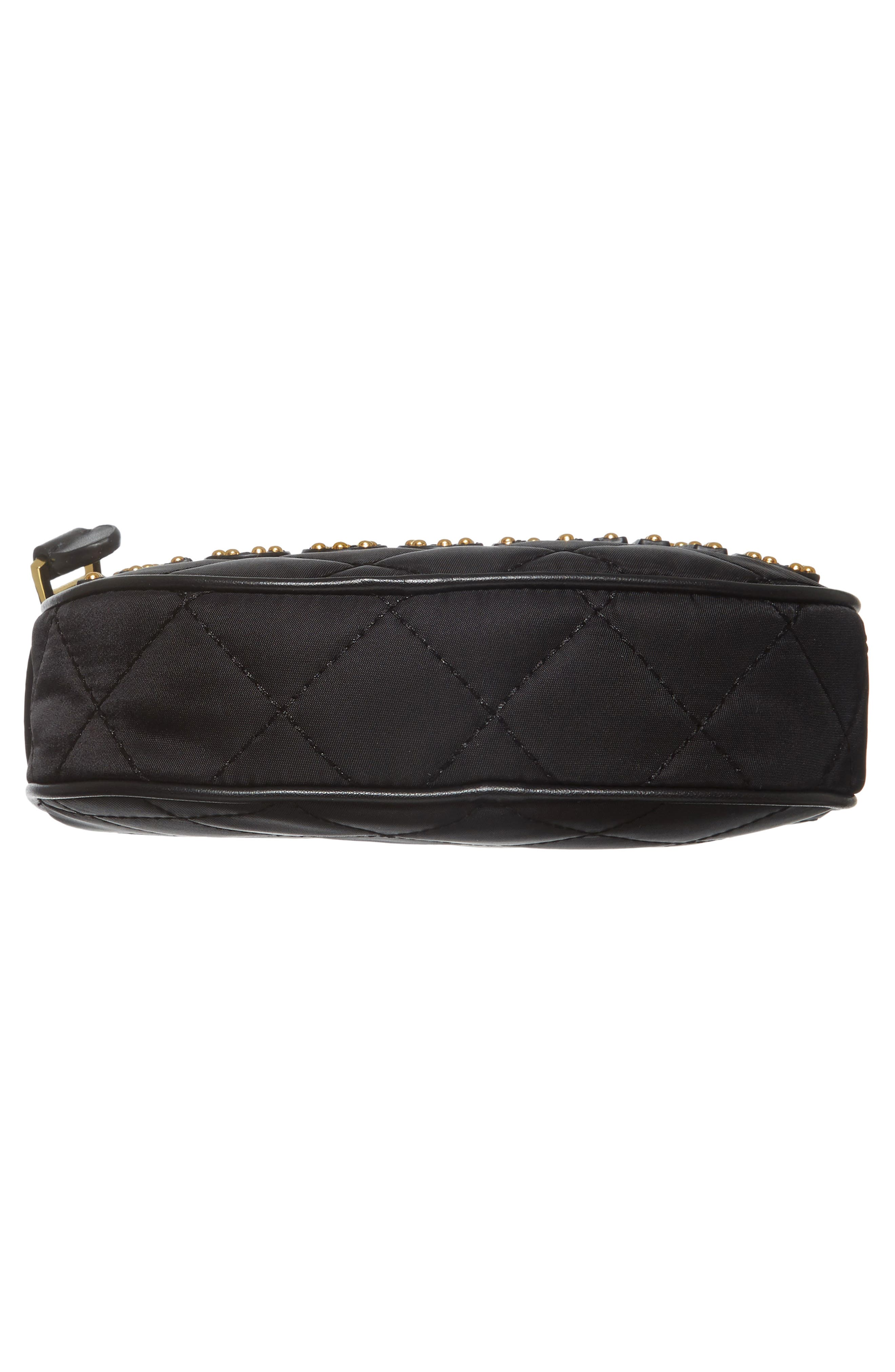 Alternate Image 6  - Moschino Small Quilted Camera Bag