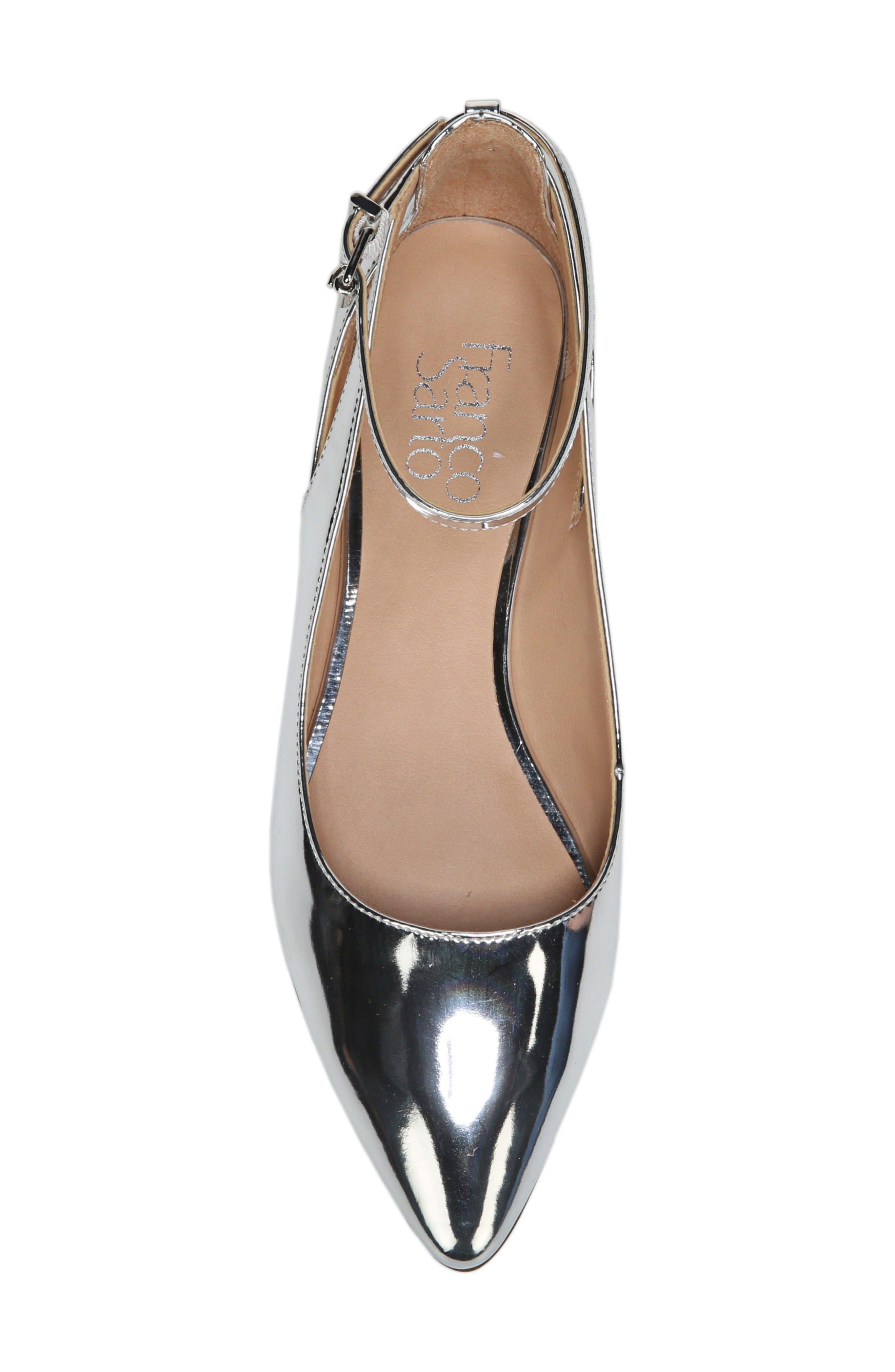 Alternate Image 5  - SARTO by Franco Sarto Sylvia Ankle Strap Flat (Women)