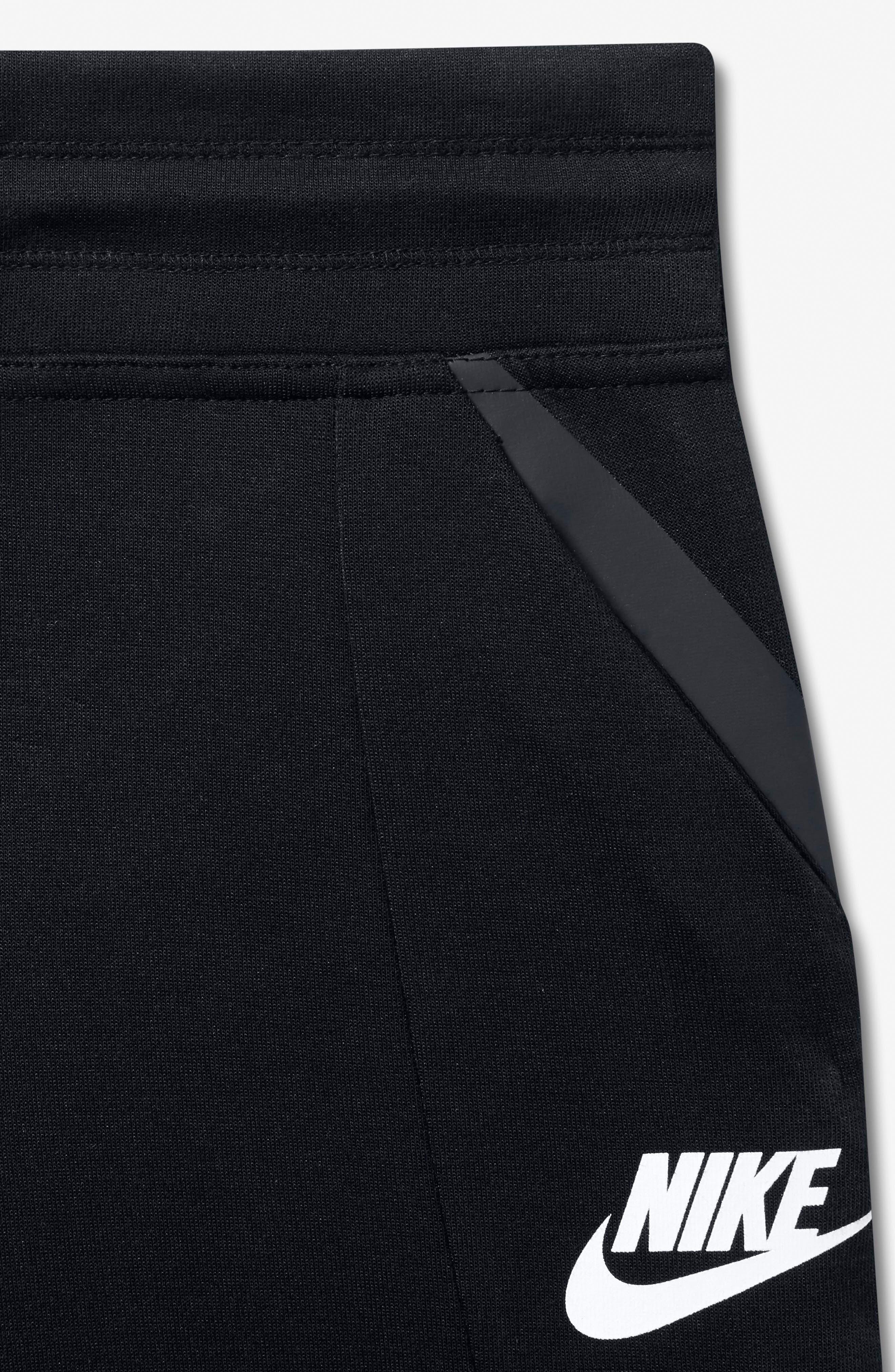 Alternate Image 5  - Nike Tech Fleece Pants (Big Girls)