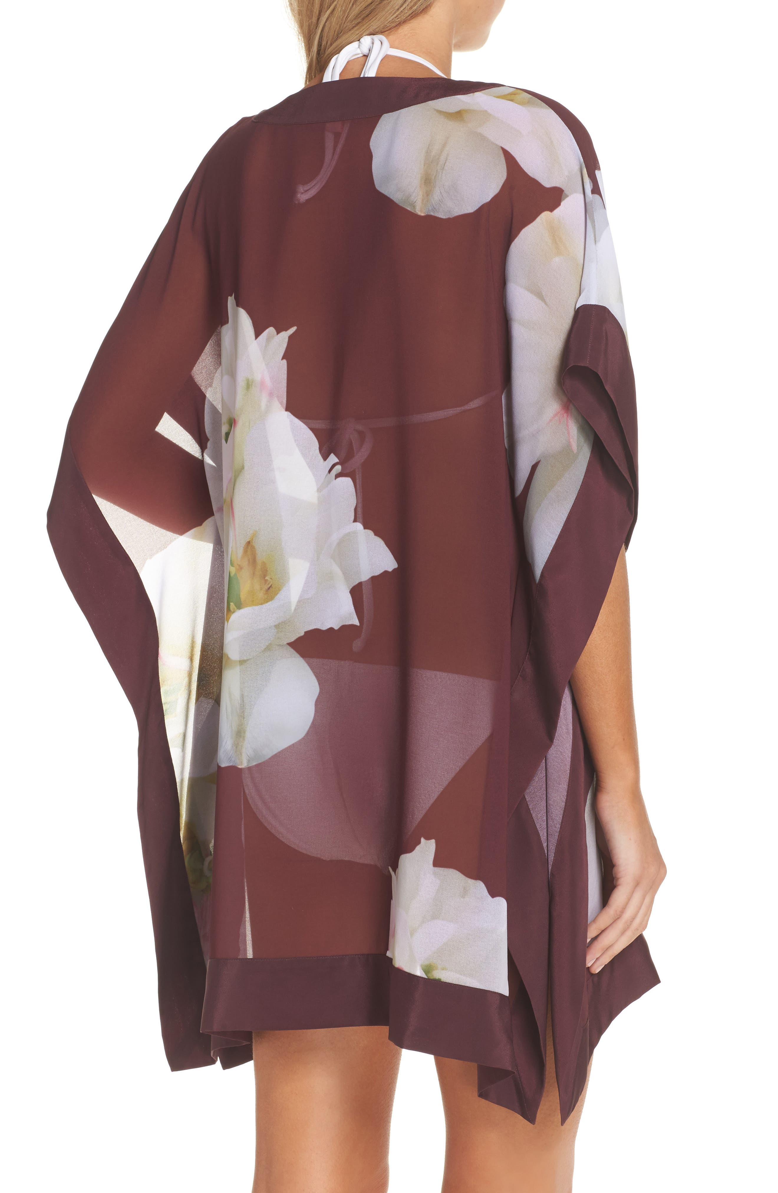 Alternate Image 2  - Ted Baker London Garsa Gardenia Cover-Up Tunic