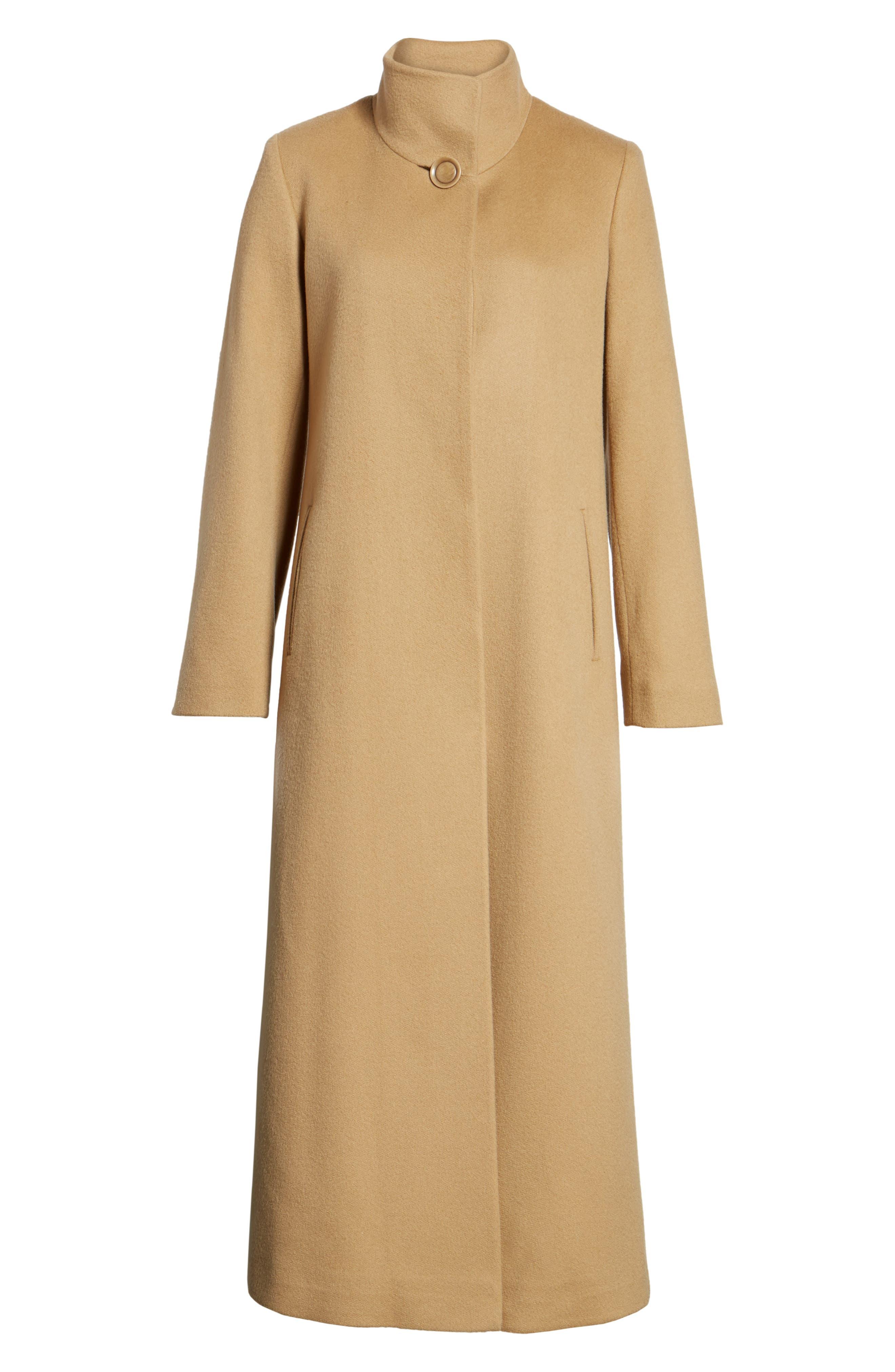 Alternate Image 6  - Fleurette Cashmere Long Coat