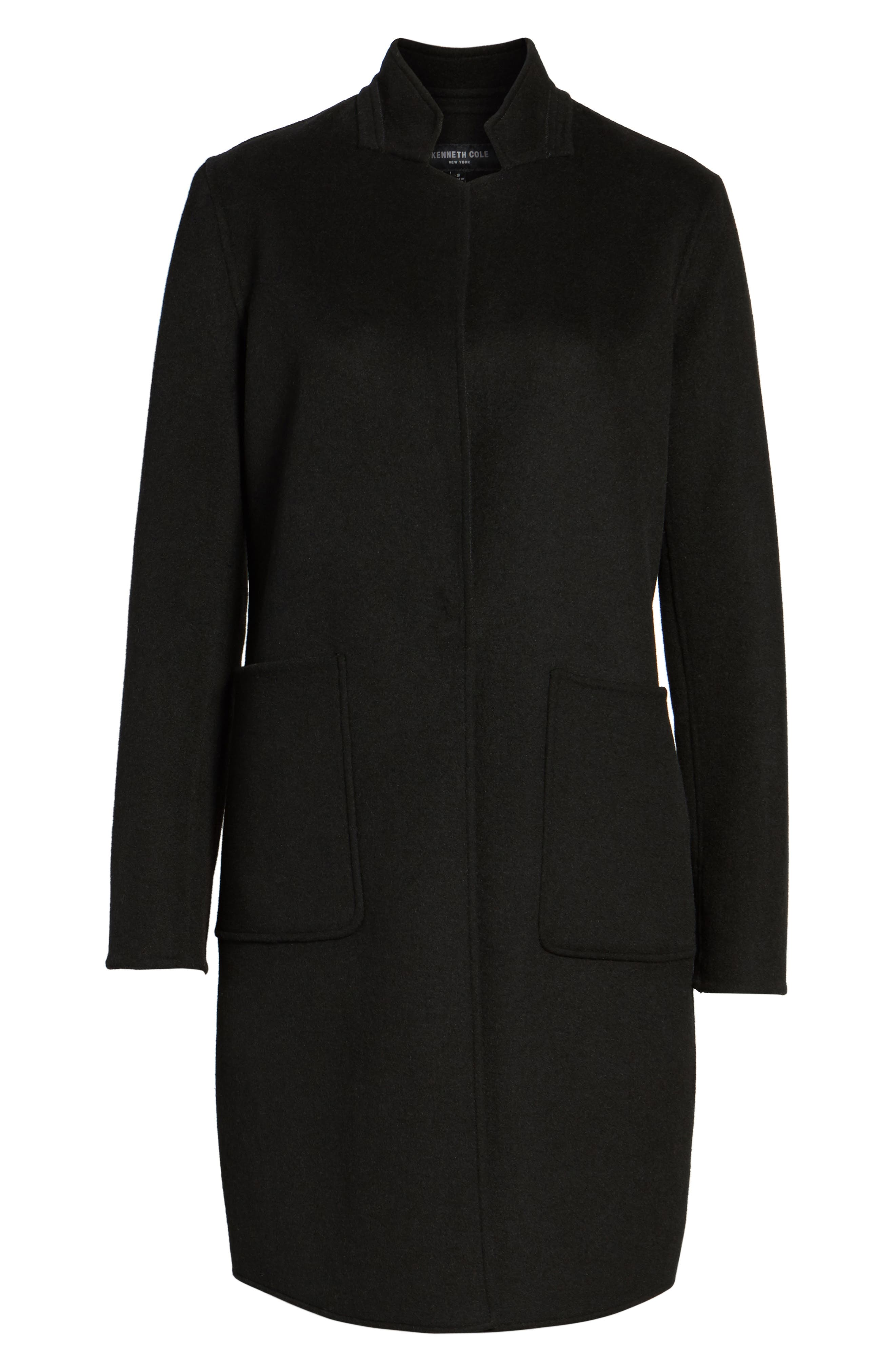 Alternate Image 6  - Kenneth Cole New York Double Face Wool Blend Coat