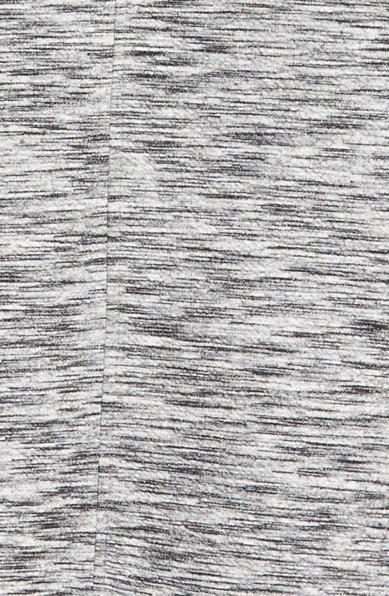 Knit Bomber Jacket,                             Alternate thumbnail 5, color,                             Grey Lunar Spacedye