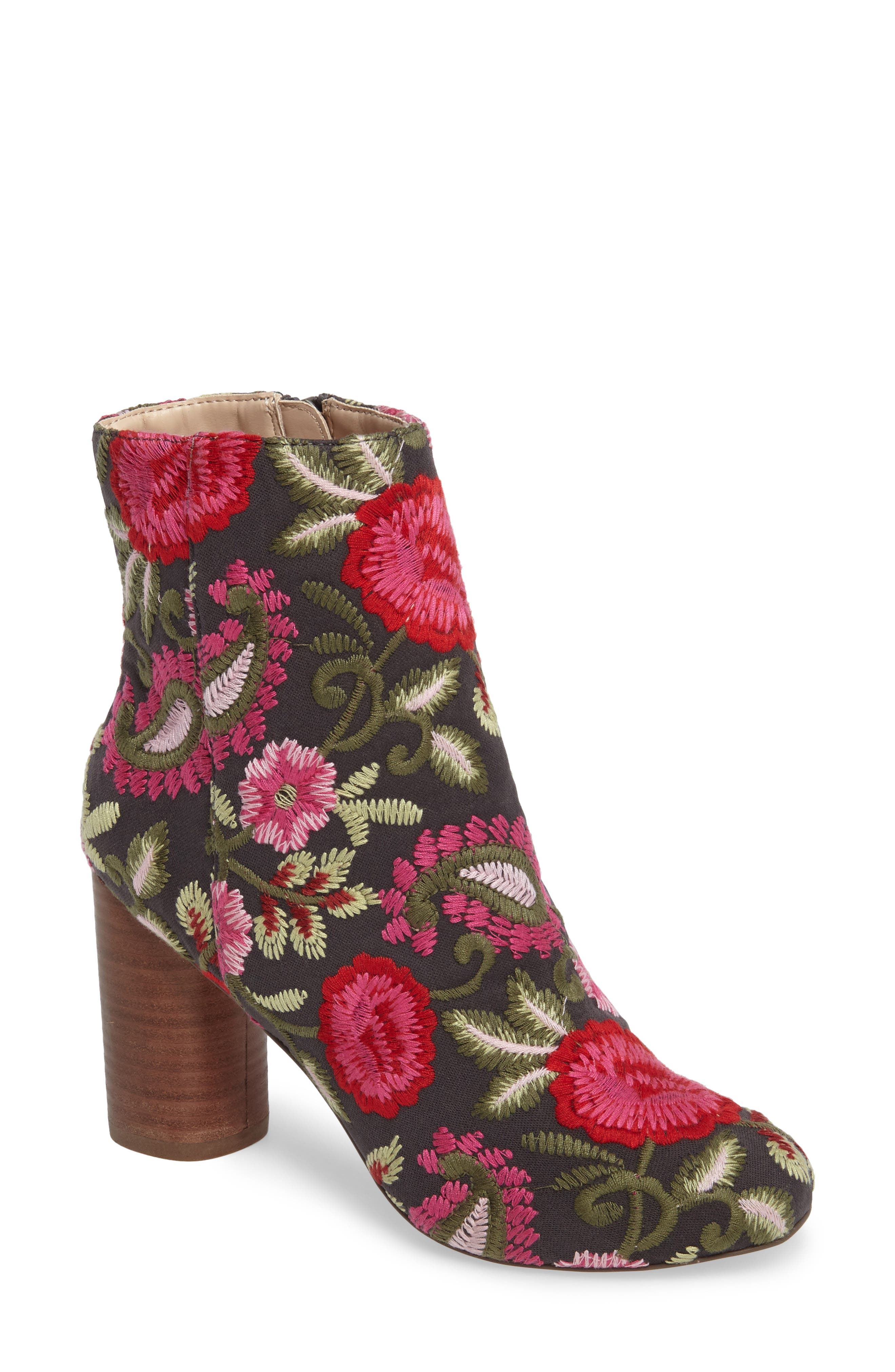 Sole Society Mulholland Embroidered Boot (Women)