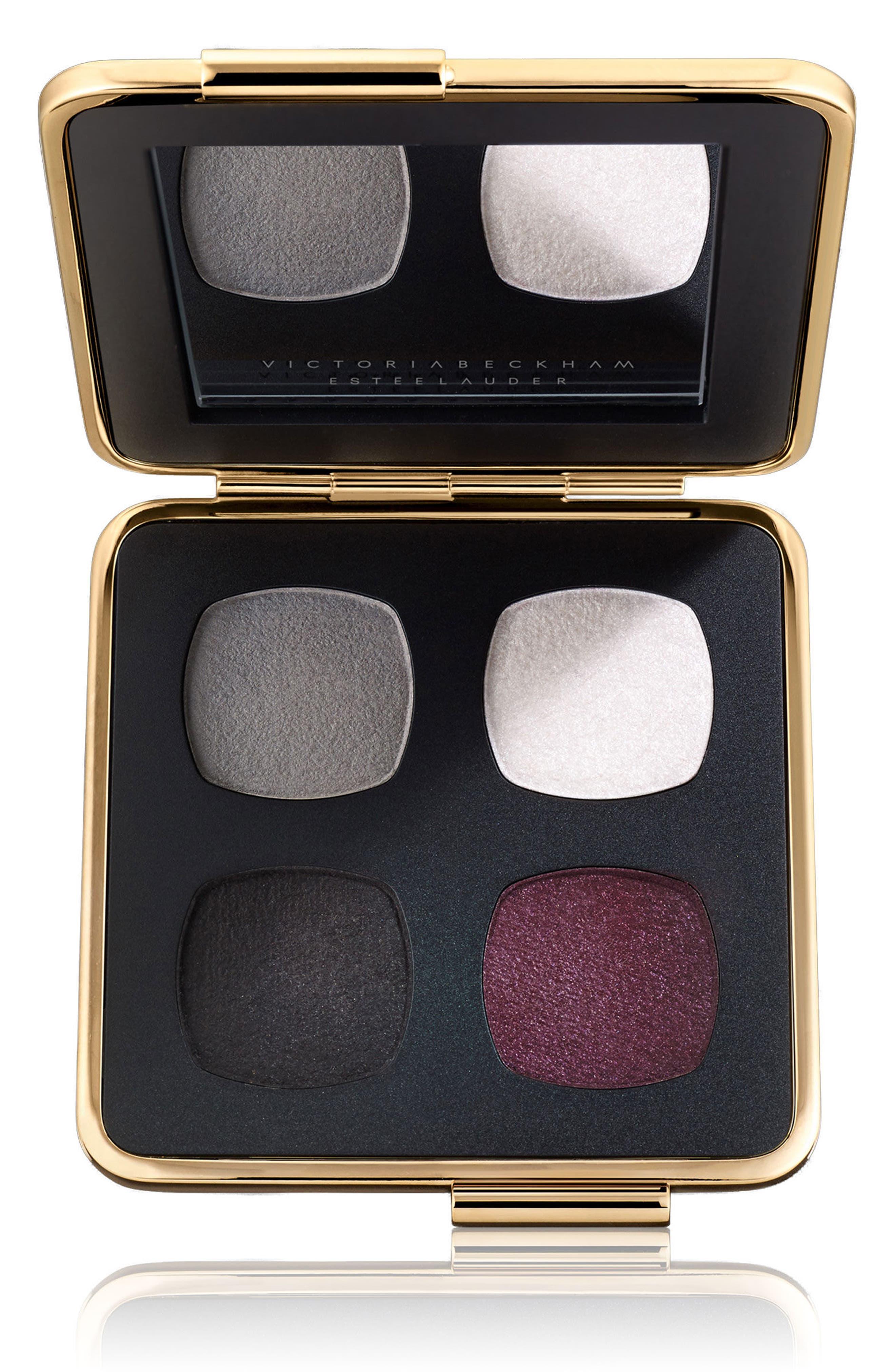 Victoria Beckham Eye Palette,                         Main,                         color, Blanc/ Gris/ Noir/ Bordeaux