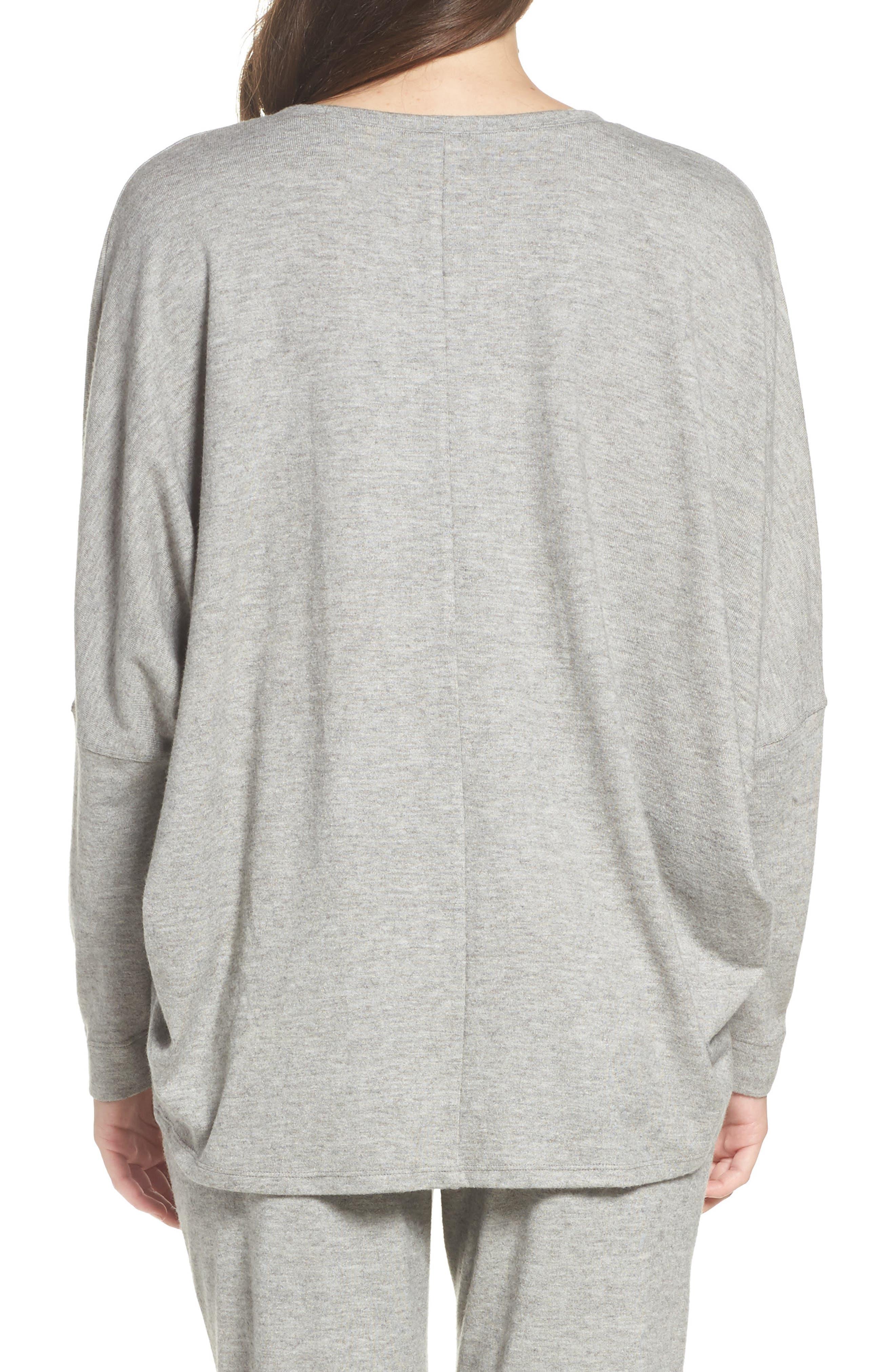Alternate Image 2  - Natori Retreat Sweater Knit Top