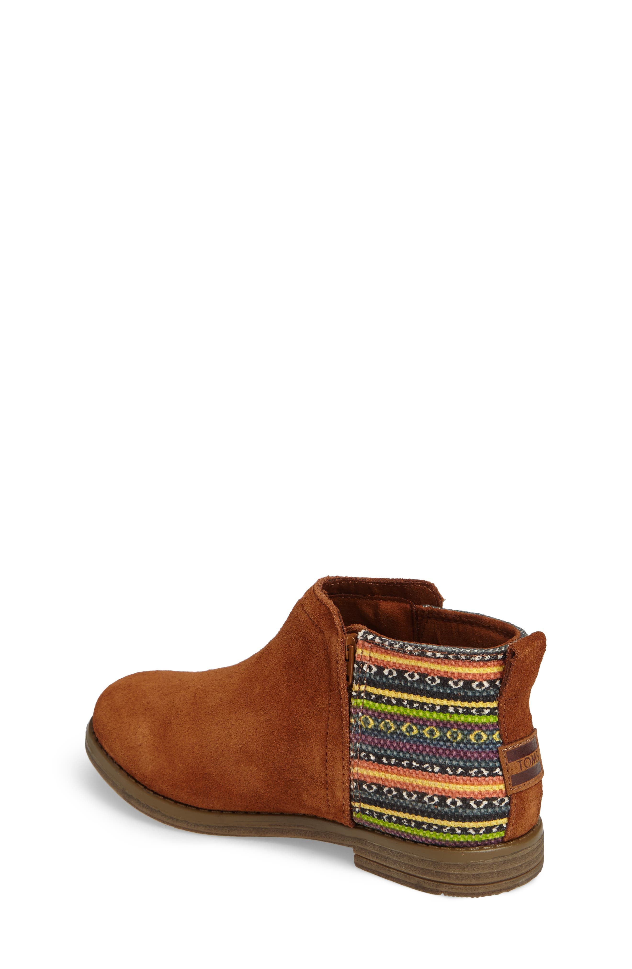 Deia Mixed Media Bootie,                             Alternate thumbnail 2, color,                             Cinnamon Suede