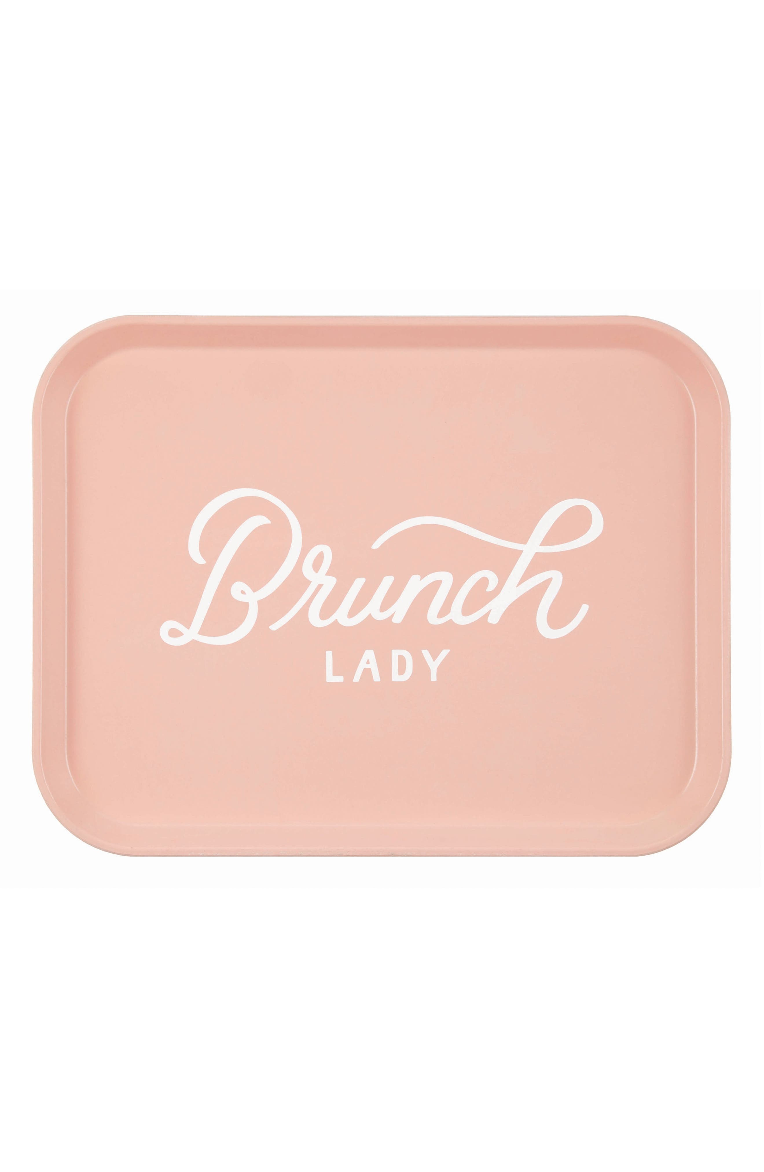 Brunch Lady Tray,                         Main,                         color, Pink
