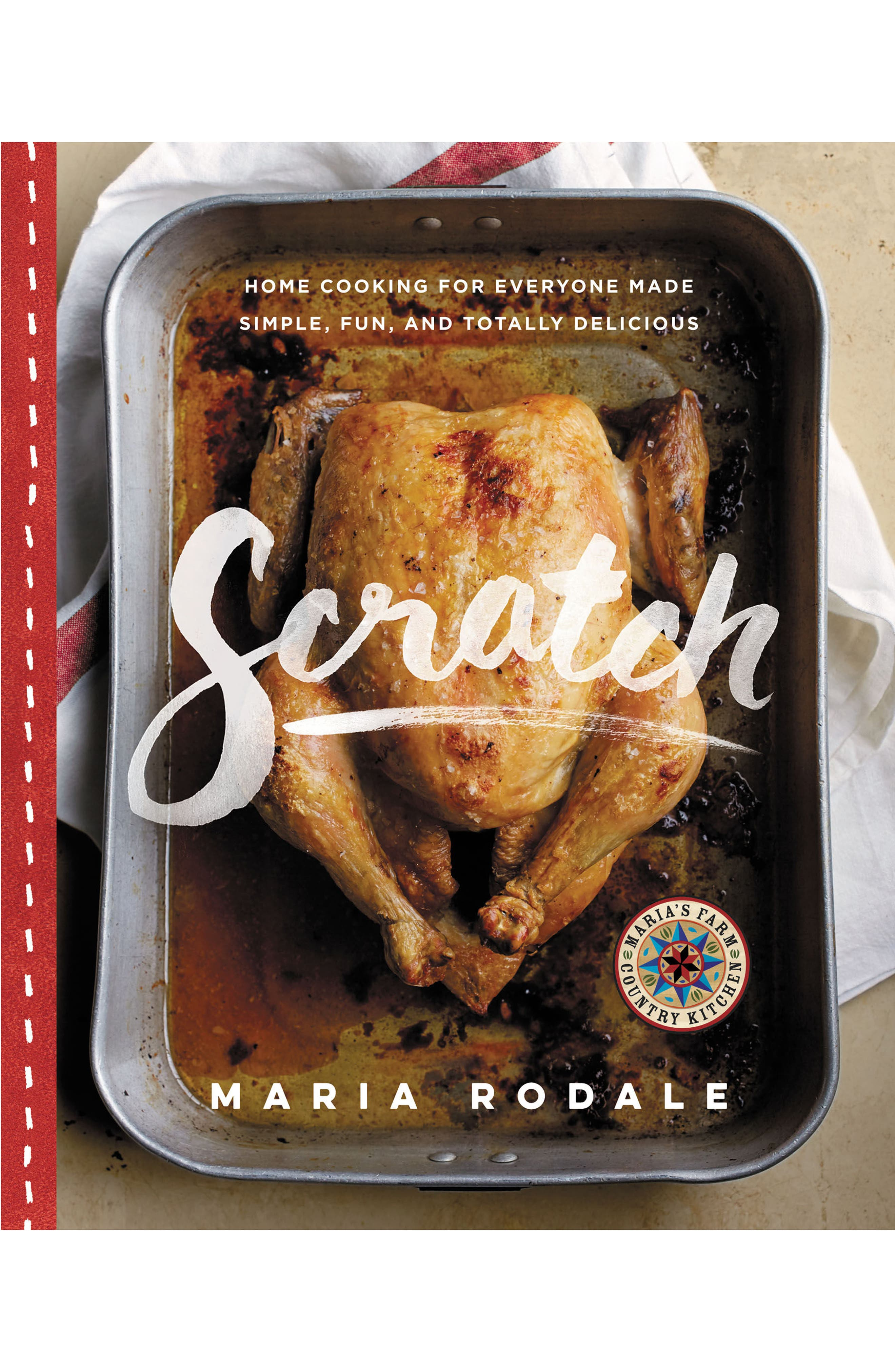 Scratch: Home Cooking for Everyone Made Simple, Fun, and Totally Delicious Cookbook,                         Main,                         color, Red